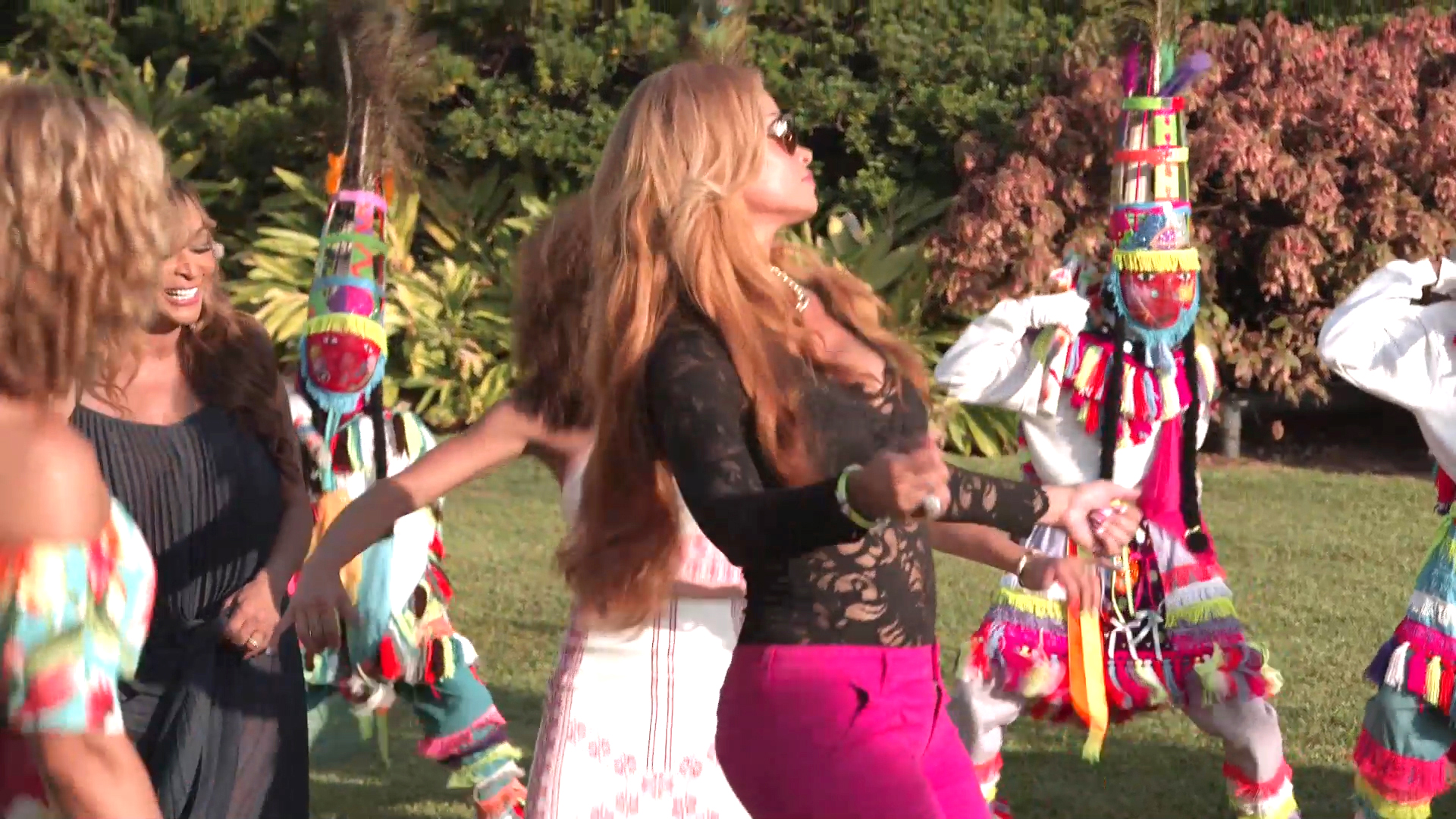 RHOP Housewives Dance With Whips in Bermuda
