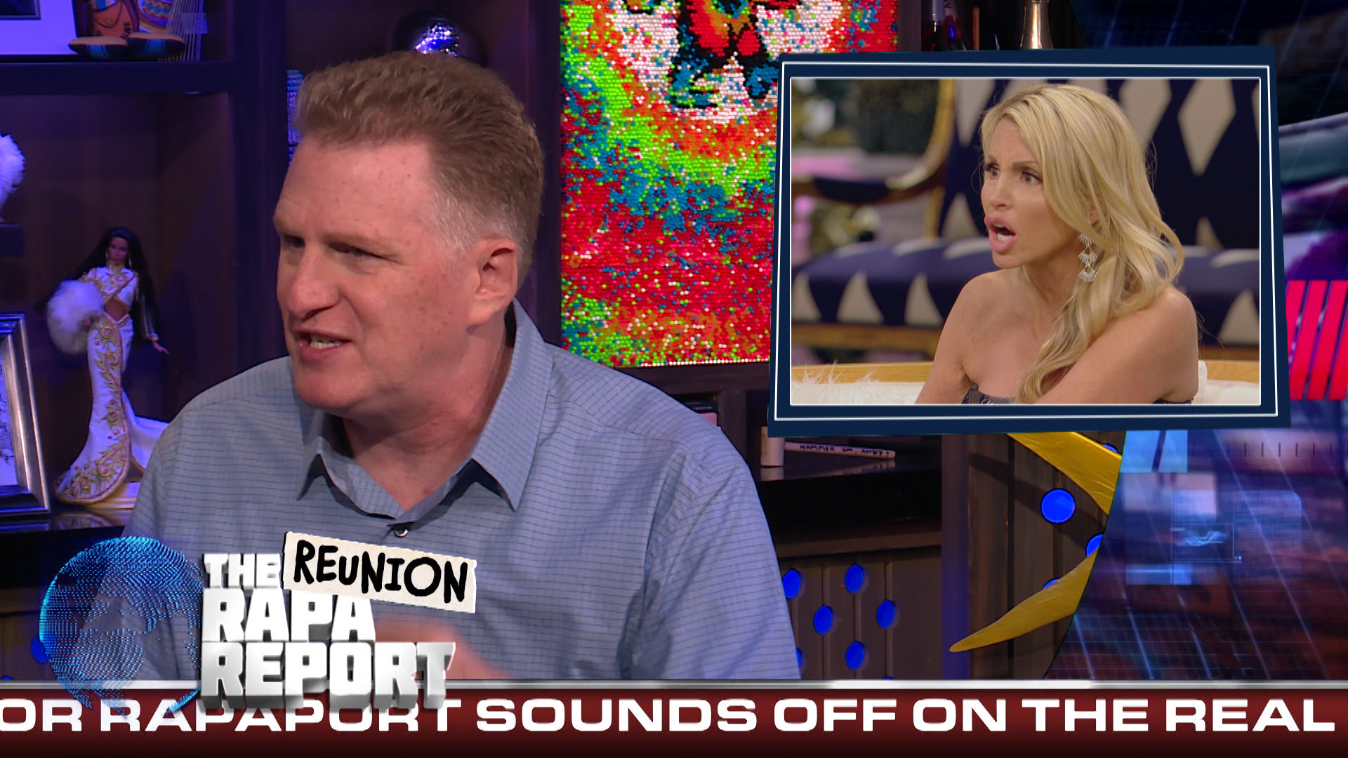 Michael Rapaport on the #RHOBH & #RHONY Reunions