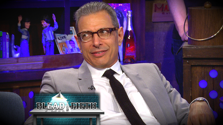 Jeff Goldblum Pleads the Fifth …Twice!