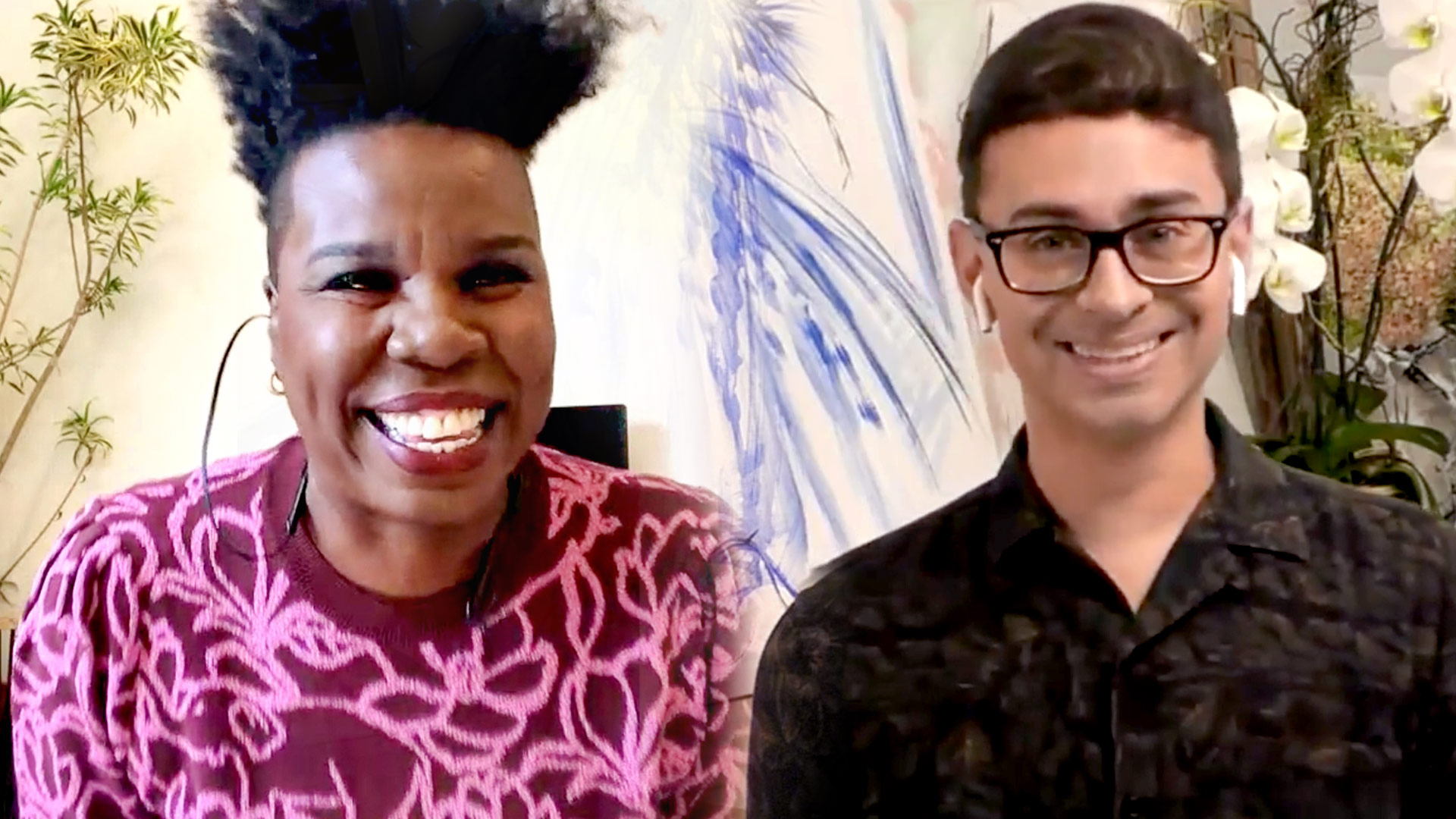 "Leslie Jones Is ""So Excited"" to Be the First Guest on Christian Siriano's Talk Show"