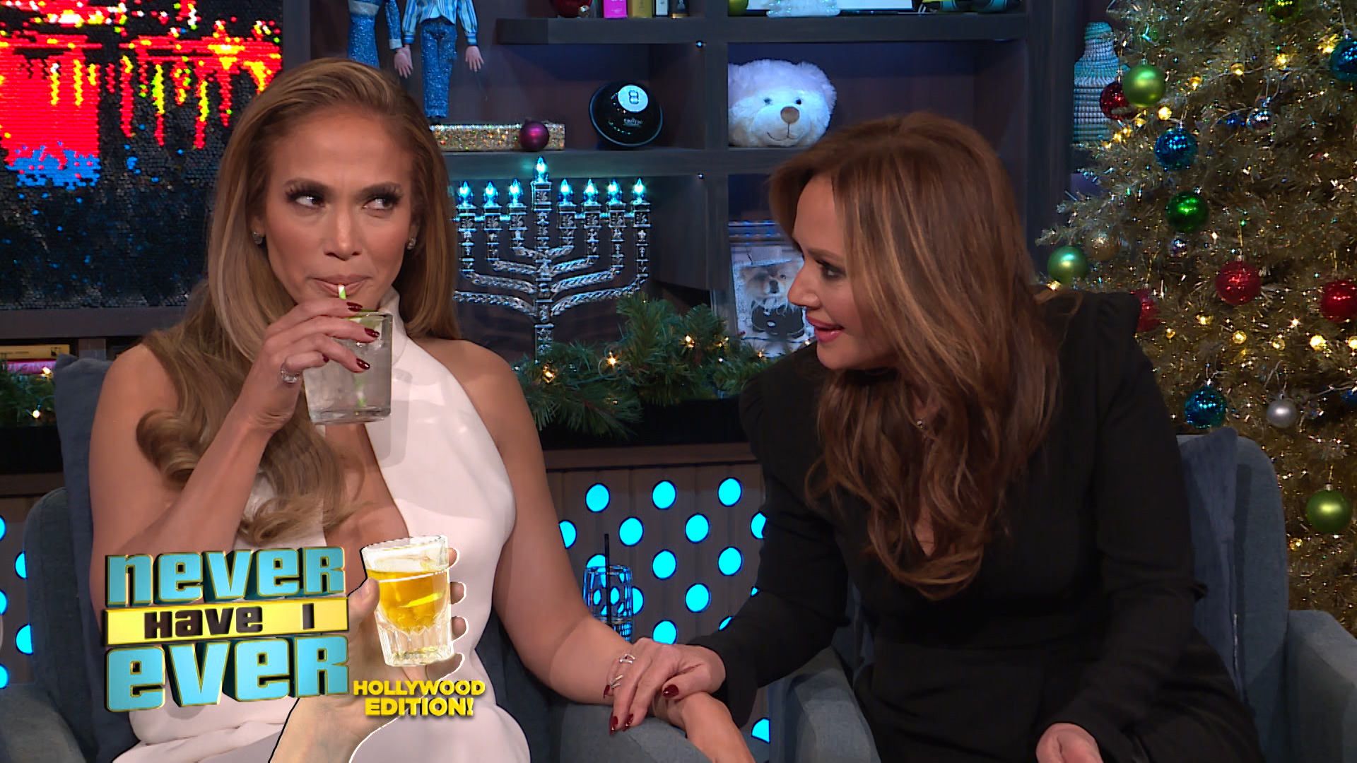 Never Have I Ever with Jennifer Lopez & Leah Remini
