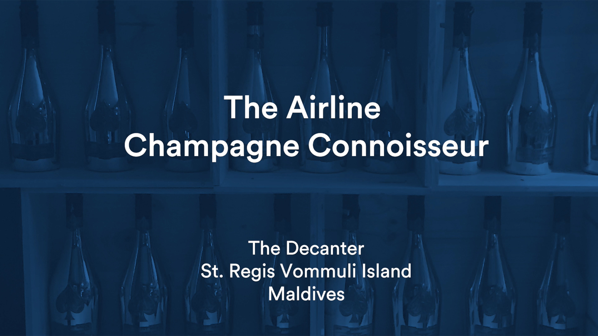 The Airline Champagne Connoisseur