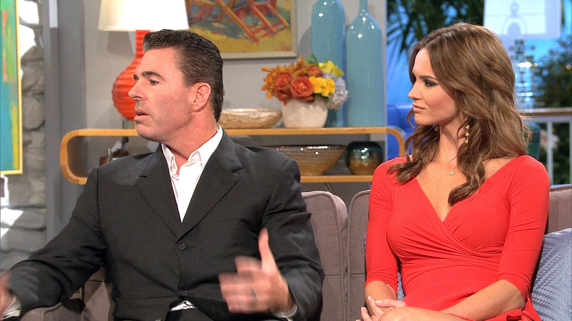 Jim Edmonds Reacts to Being on RHOC