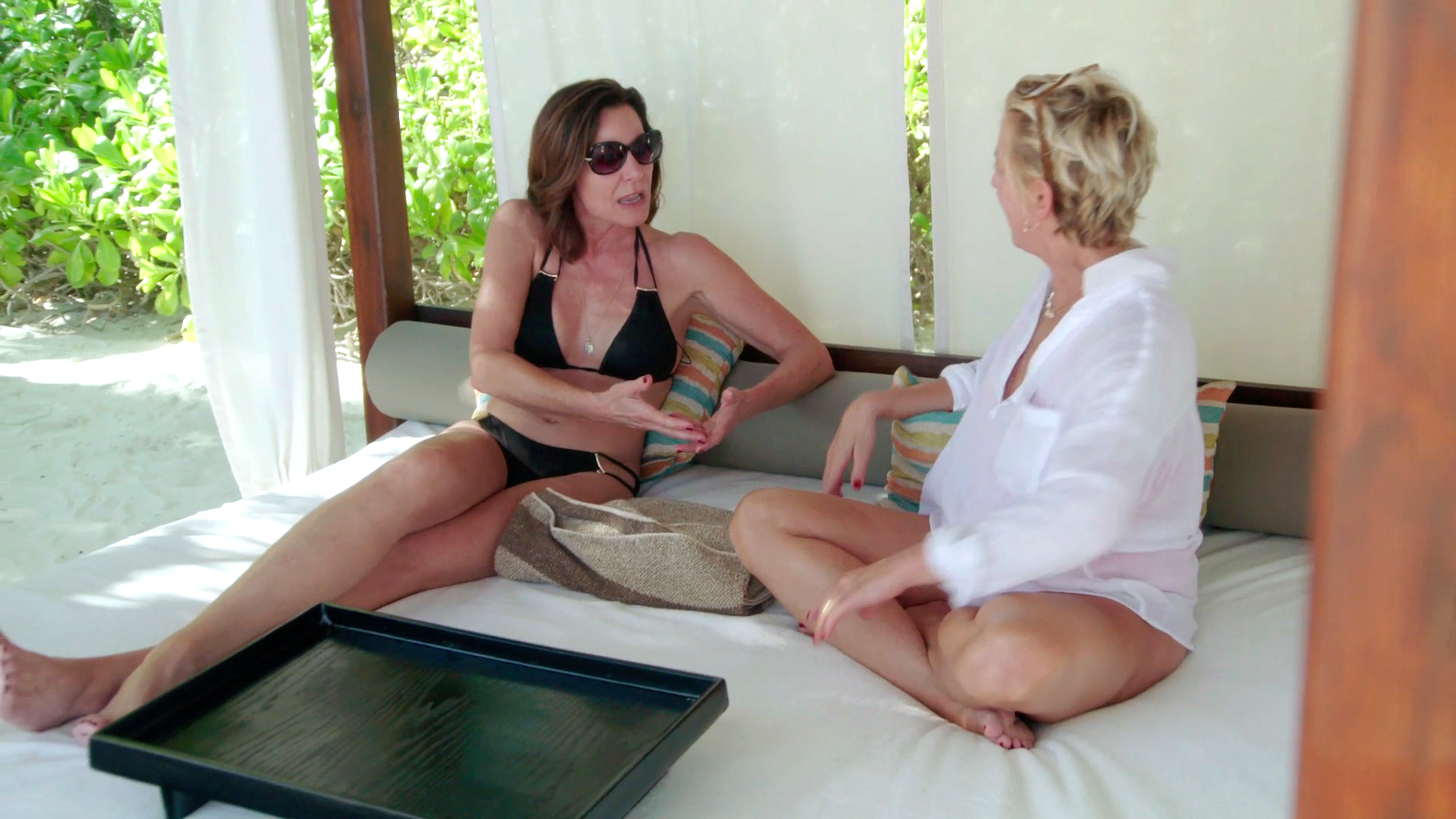 Luann de Lesseps Tries to Get an Apology Out of Dorinda Medley