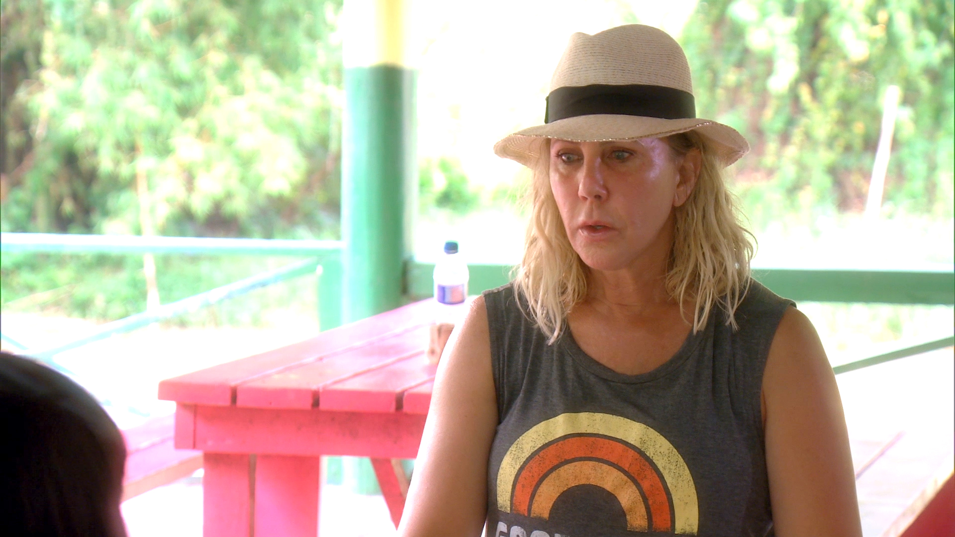 Vicki Gunvalson Goes in Deep With the River Bartender