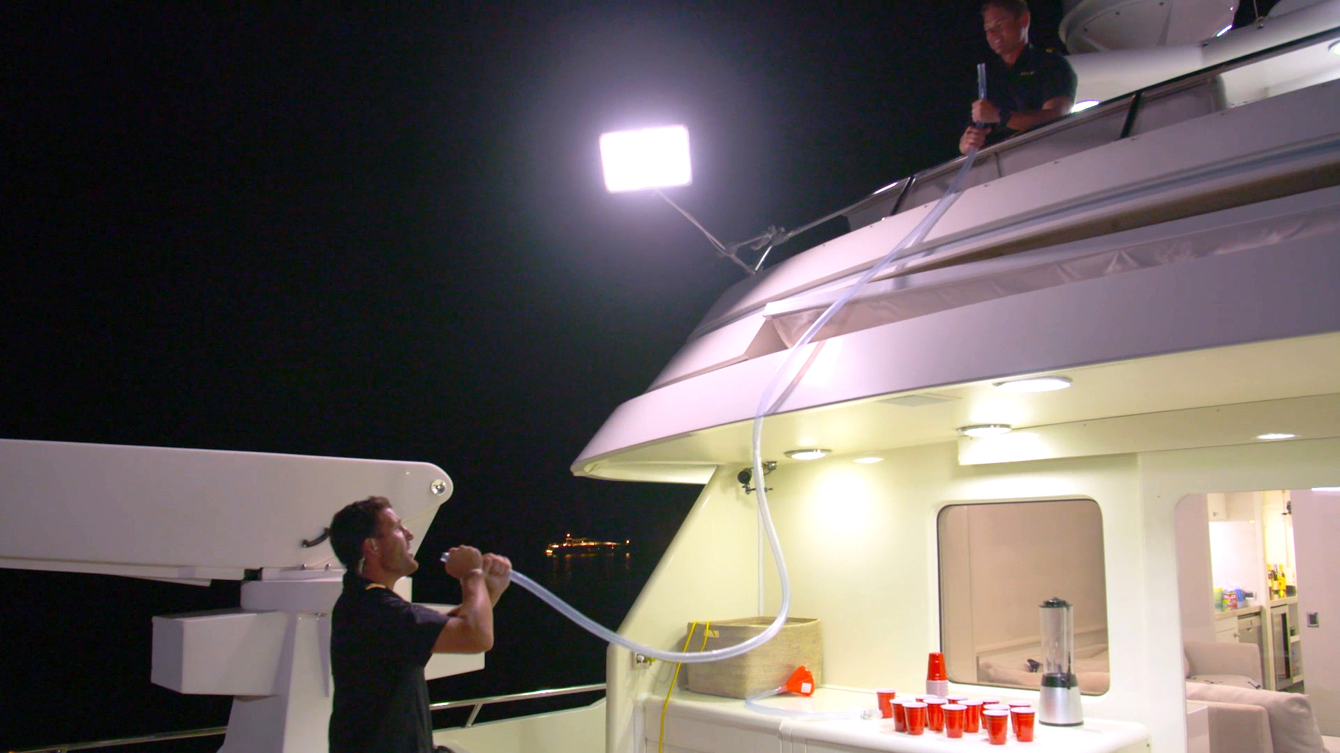 These Below Deck Charter Guests Have the Ultimate College-Themed Party
