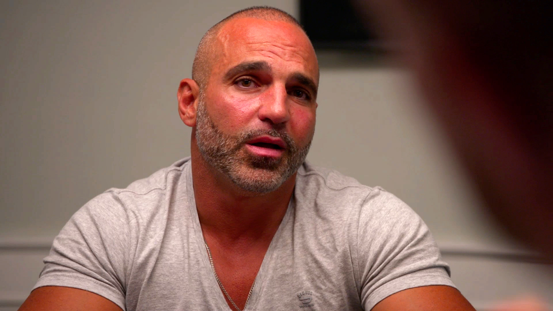What Has Joe Gorga in Tears?