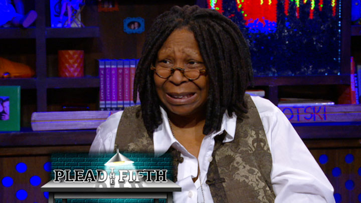 Whoopi Pleads the Fifth