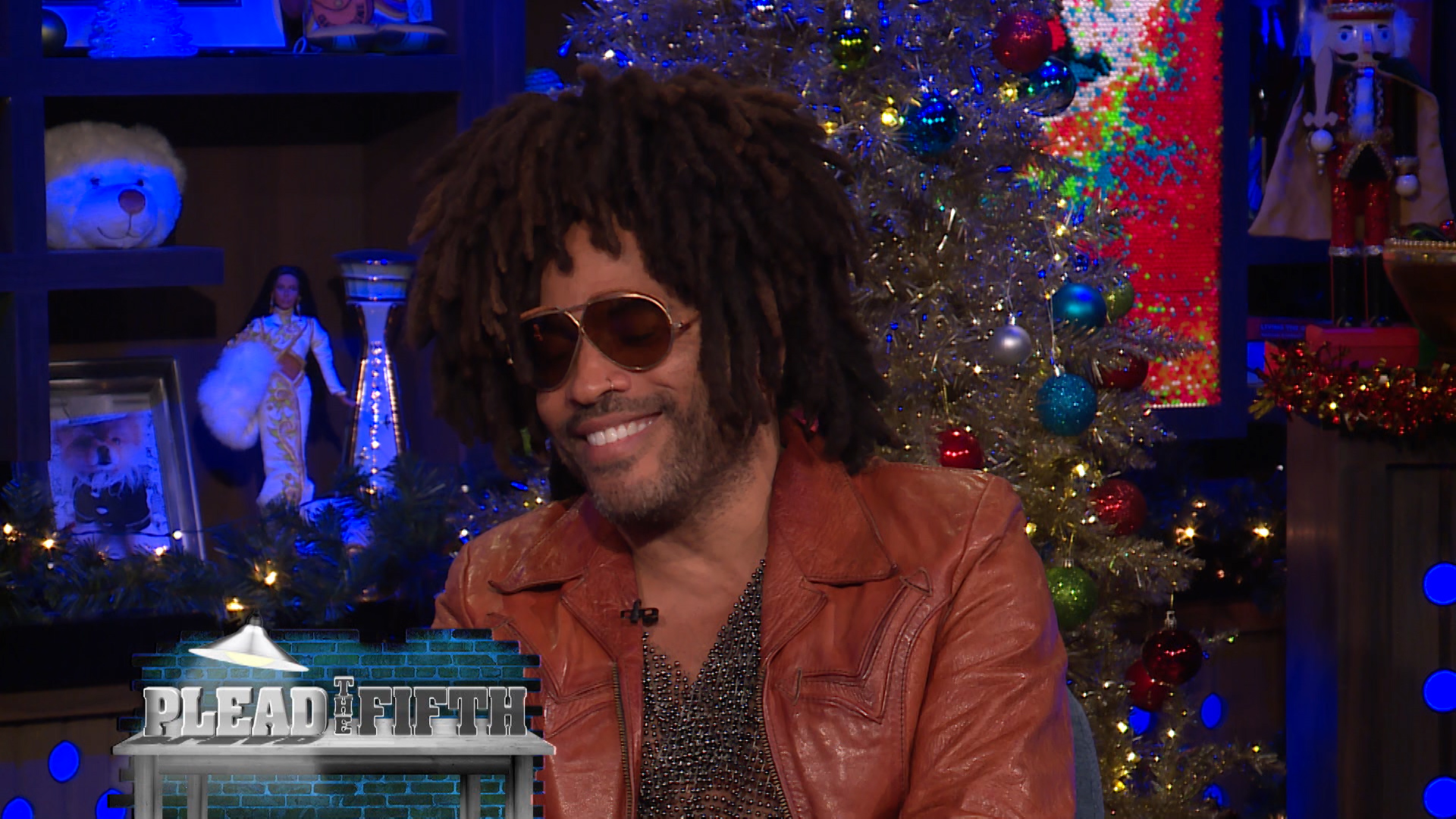 Lenny Kravitz Plays Plead the Fifth!