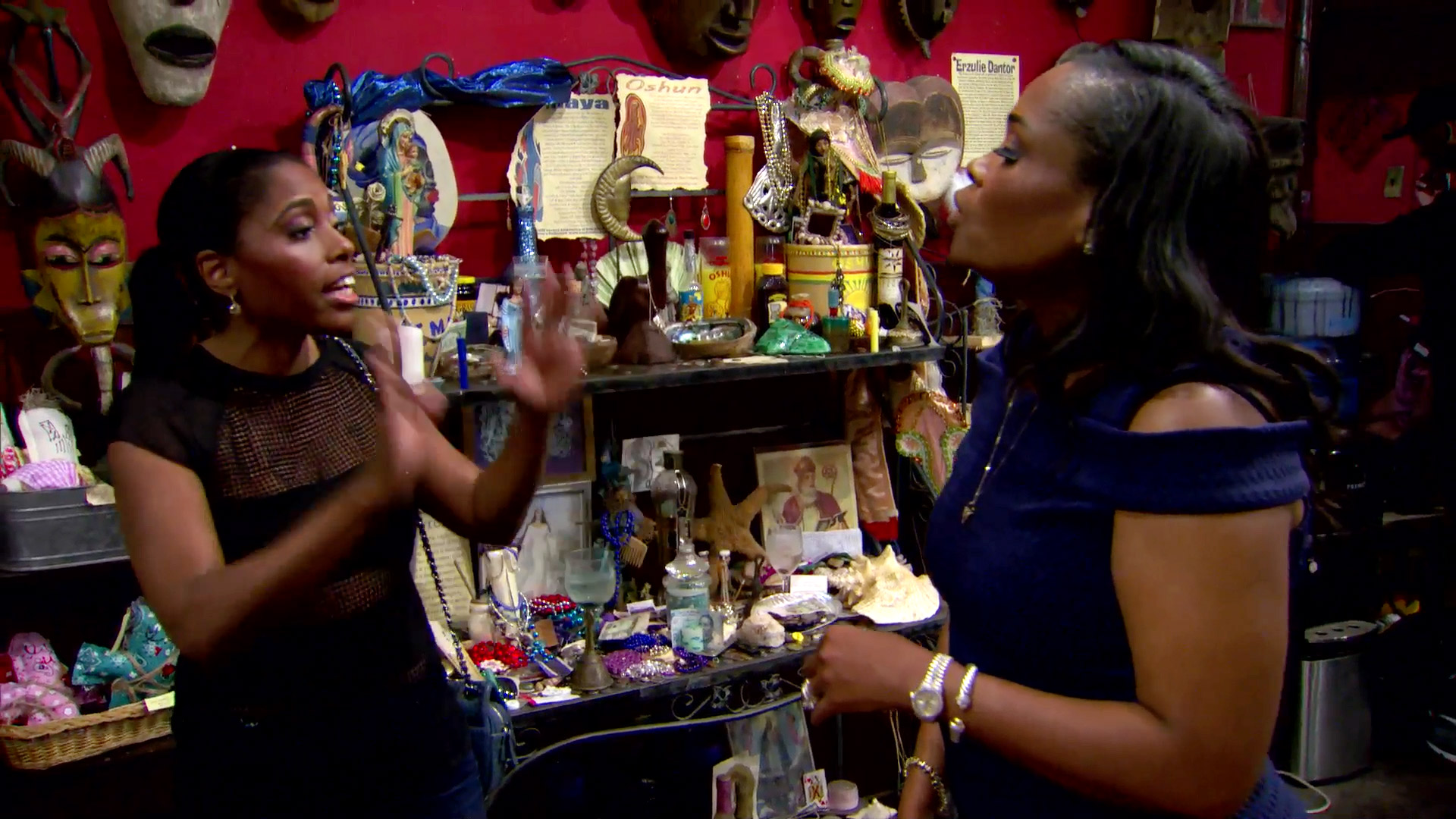 Dr. Heavenly Breaks Down in a Voodoo Shop