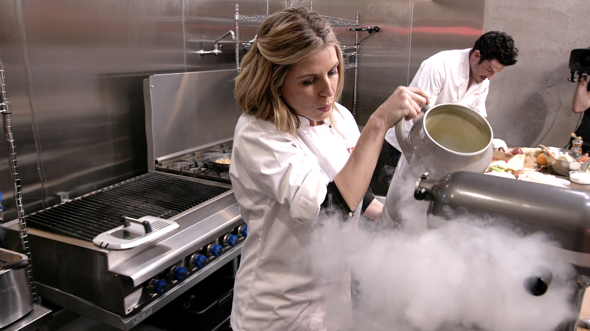 Watch Top Chef's First-Ever Live Quickfire