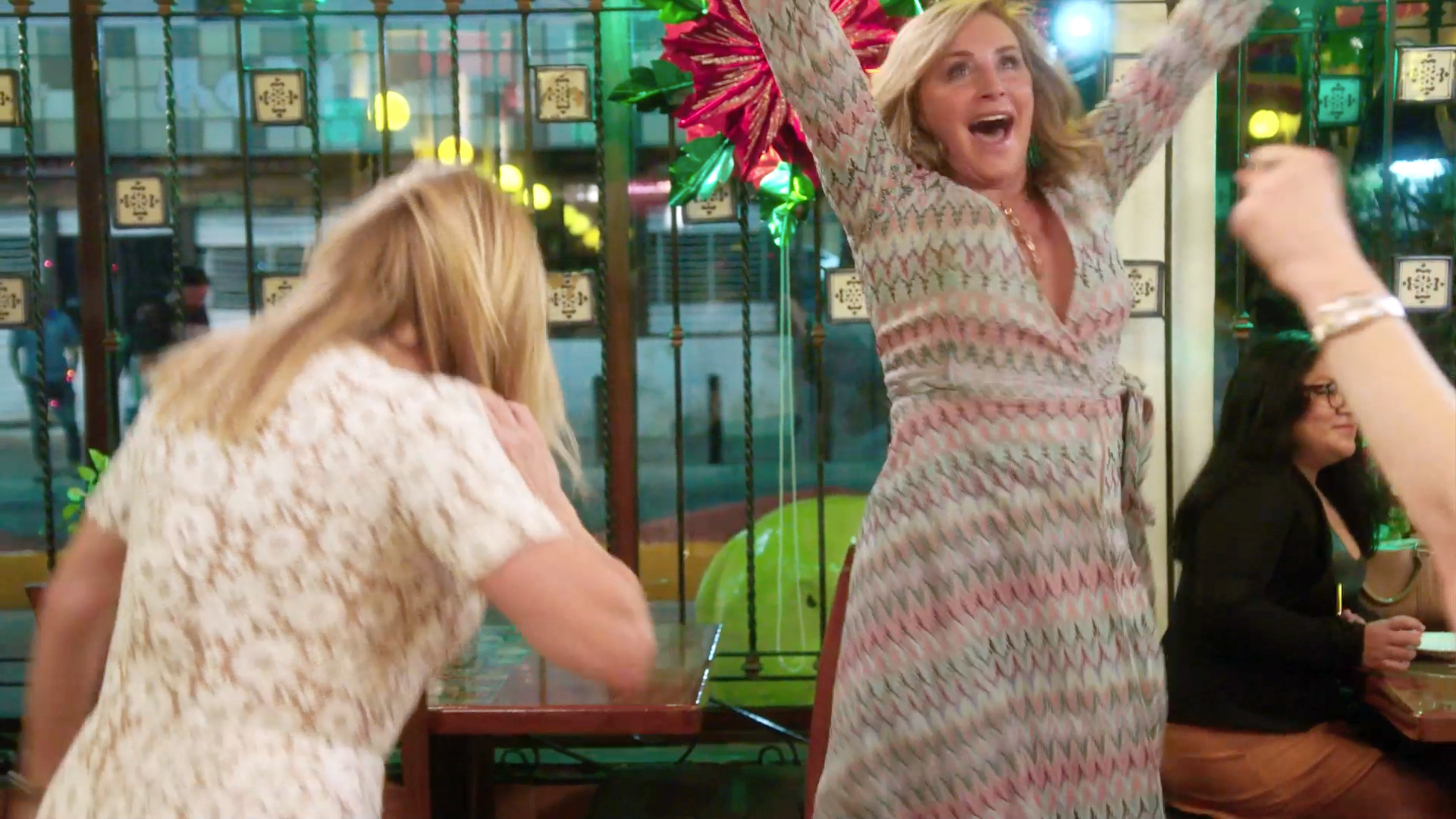 The Real Housewives Surprise Sonja Morgan With a Birthday Night in Mexico