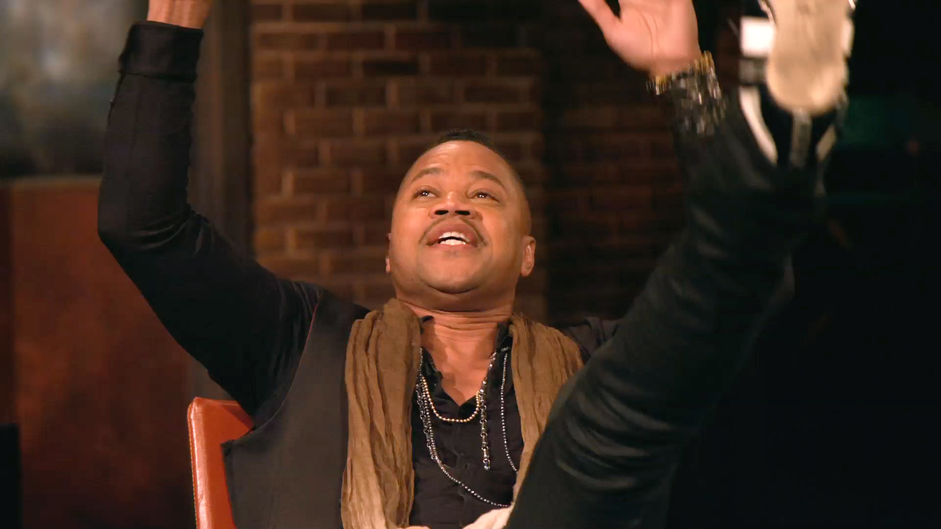 Cuba Gooding Jr. on the Time He Fell During a Performance