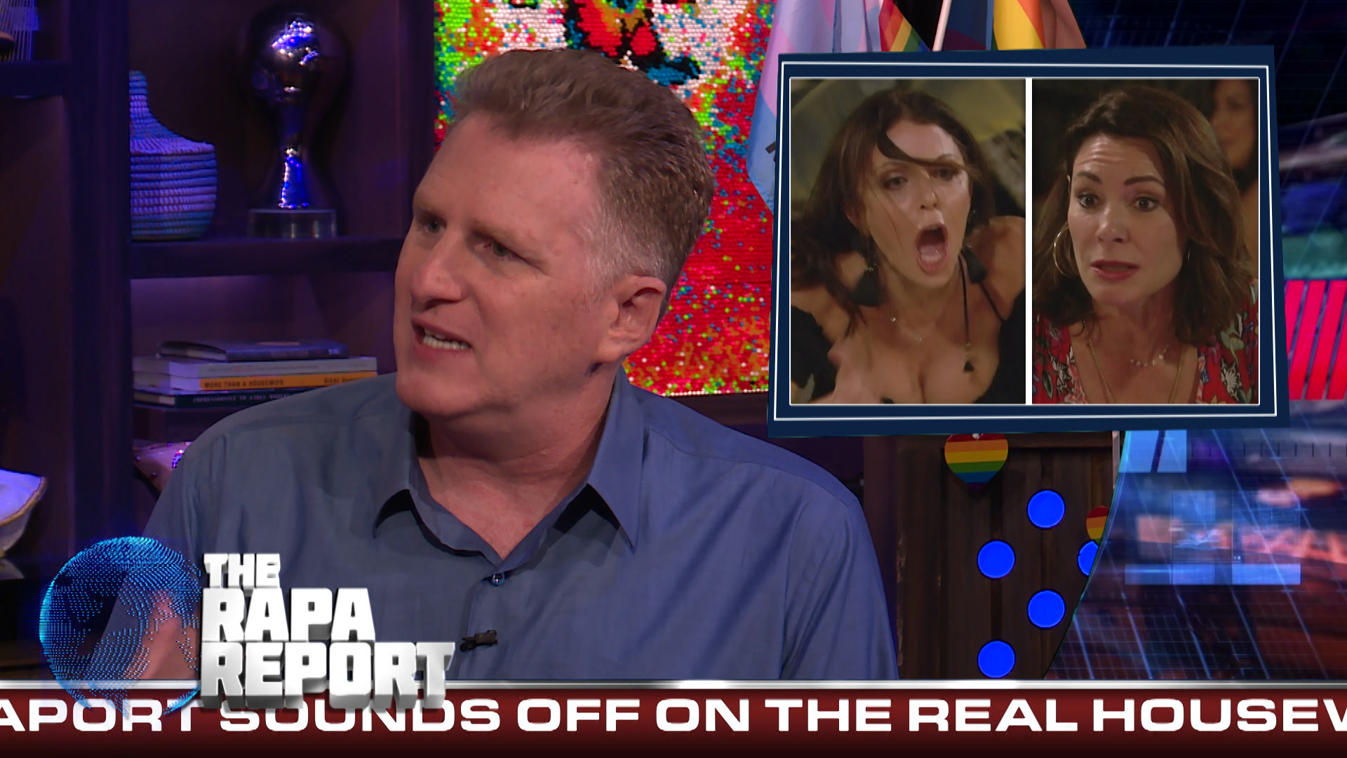 Michael Rapaport is Concerned for Sonja Morgan