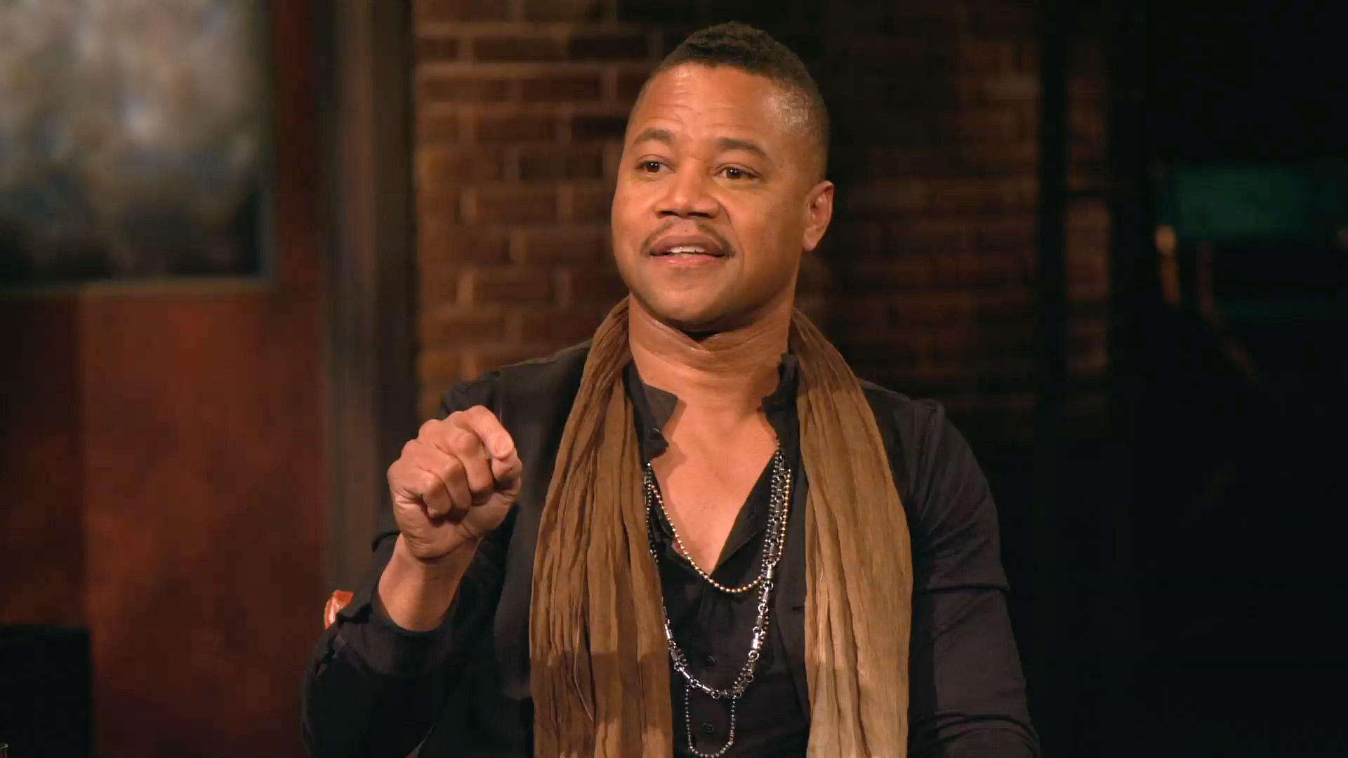 What Brought Cuba Gooding Jr. to Tears on the O.J. Set?