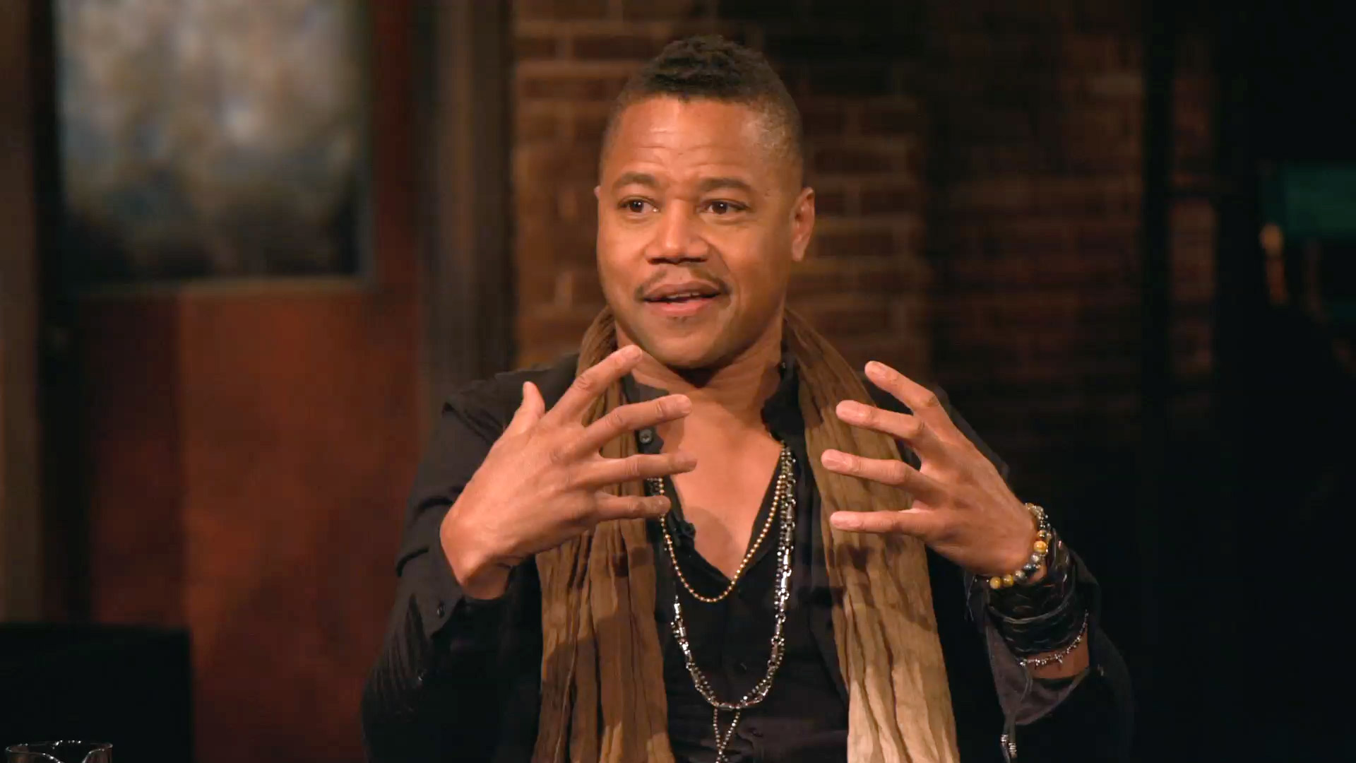 How Cuba Gooding Jr. Prepares for an Emotional Scene