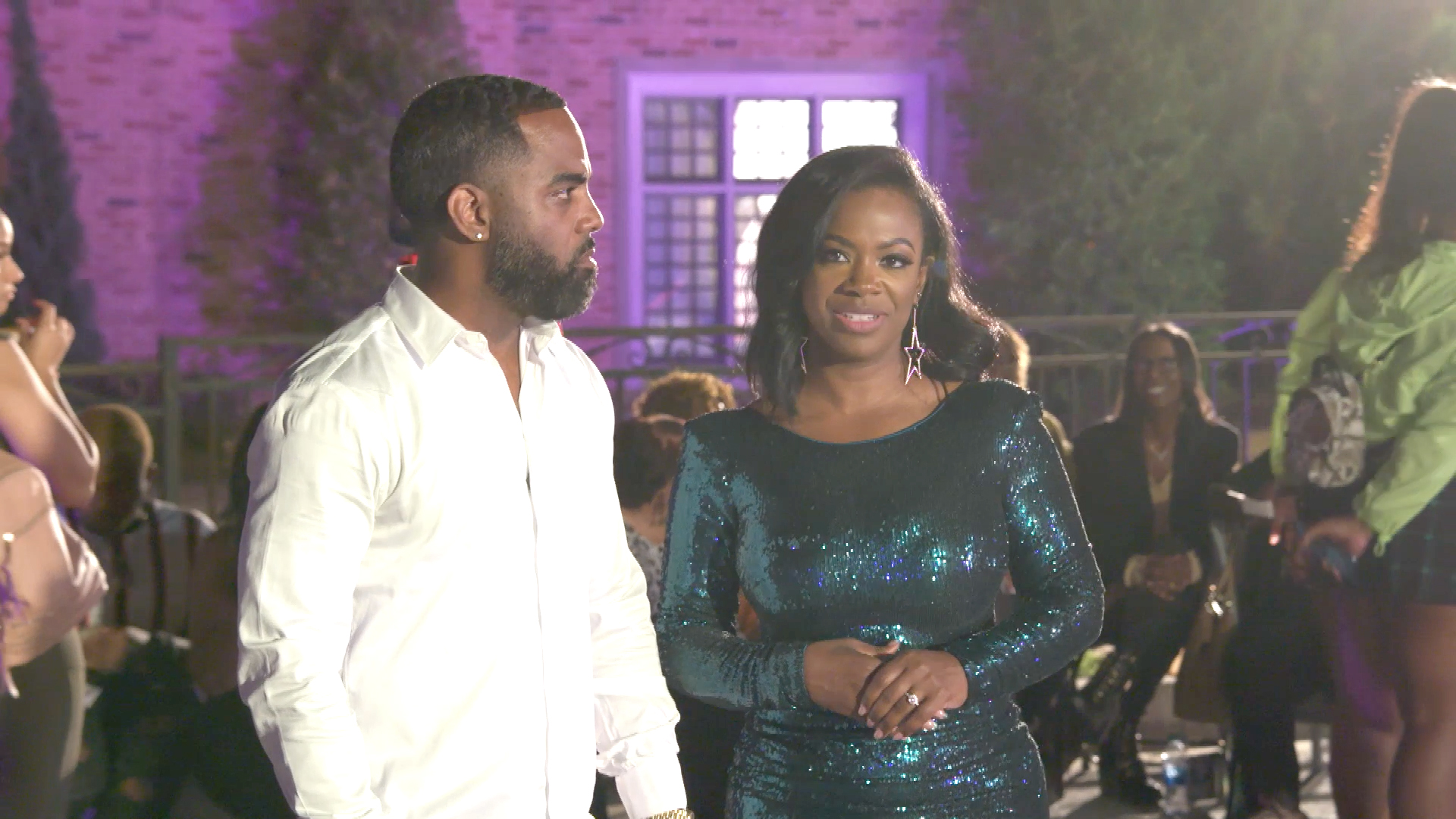 Kandi Burruss and Todd Tucker Clash Over New Mama Joyce Drama
