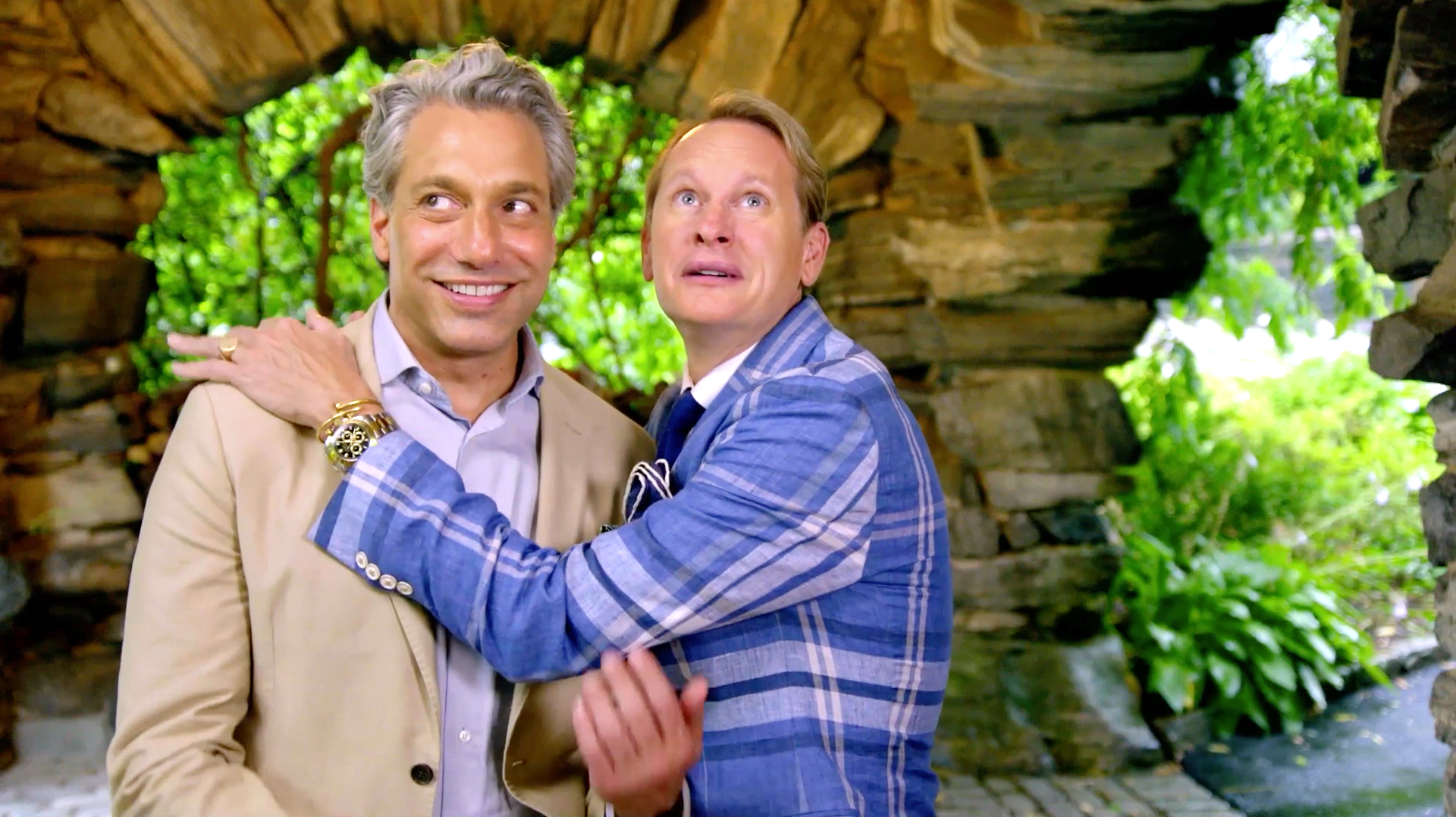 Are Carson Kressley and Thom Filicia Working in a Haunted House?