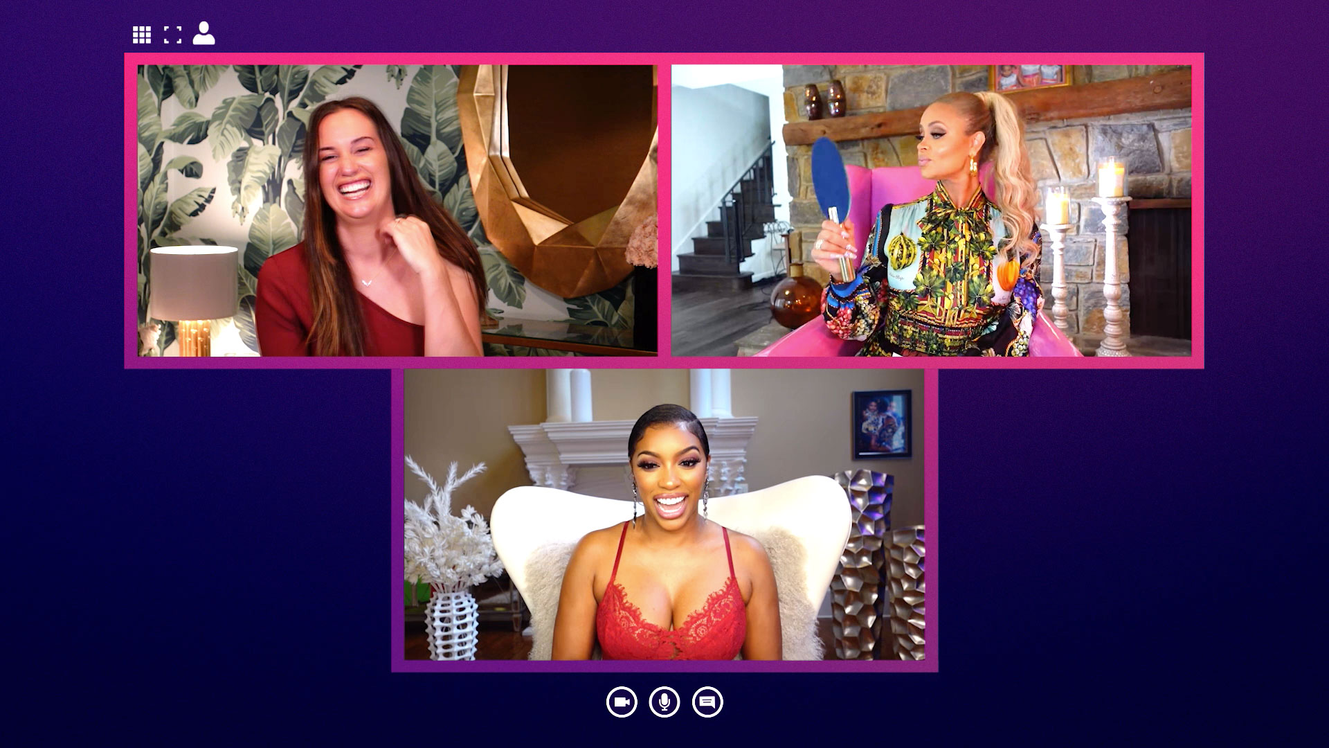 Porsha Williams Tells the Ladies of Bravo's Chat Room About Her New Boyfriend