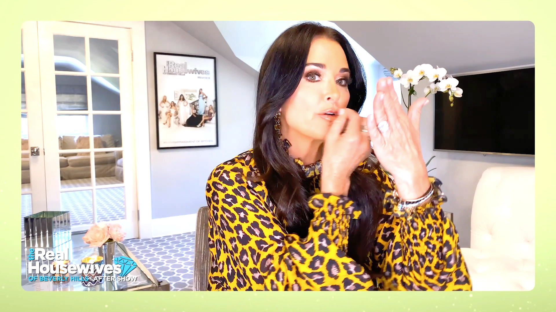 "Kyle Richards Explains the Origins of ""Bravo, Bravo, F---ing Bravo"""