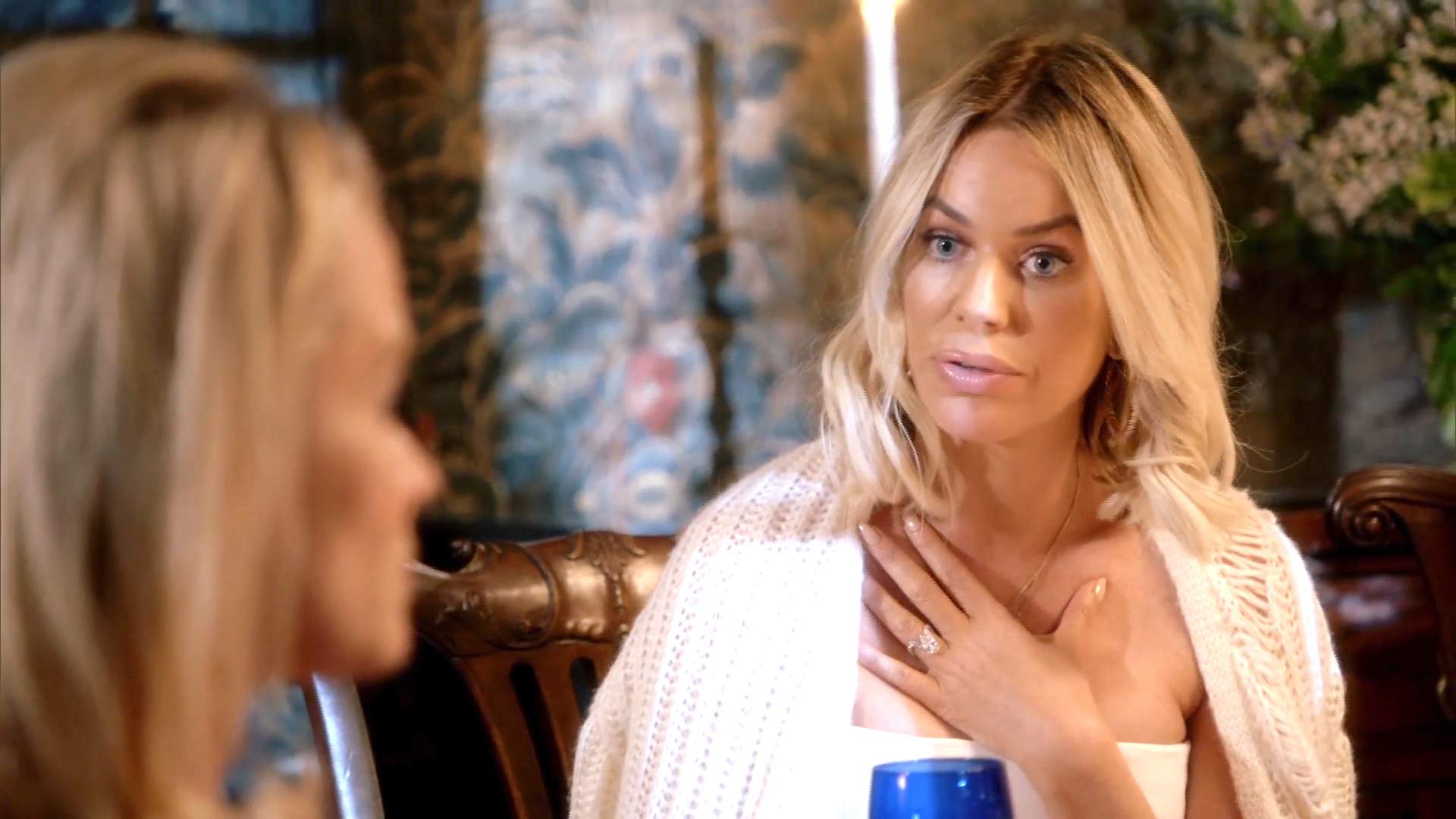 Caroline Stanbury Walks Out of Mapperton