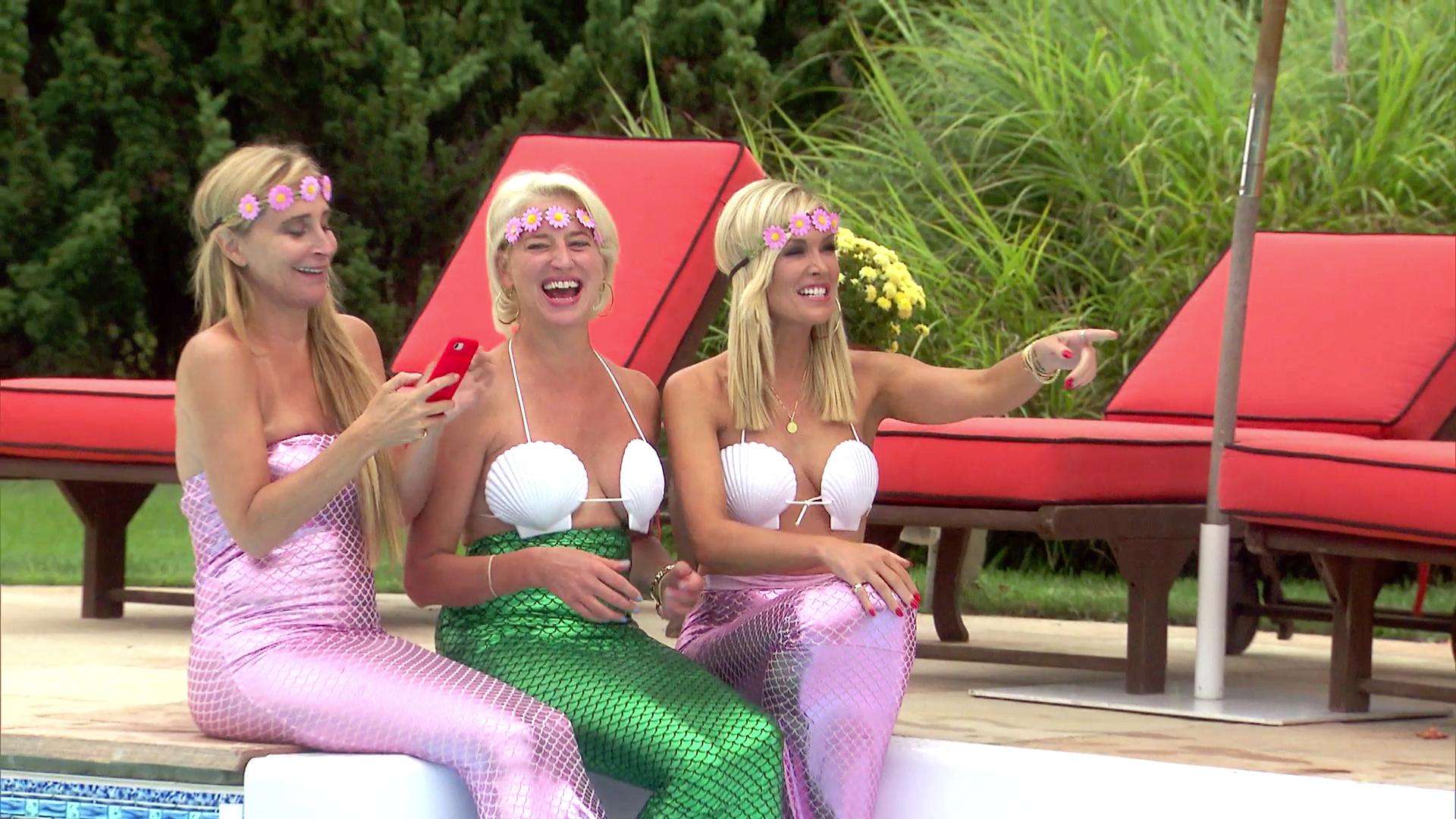 The Real Housewives Get a Mermaid Makeover