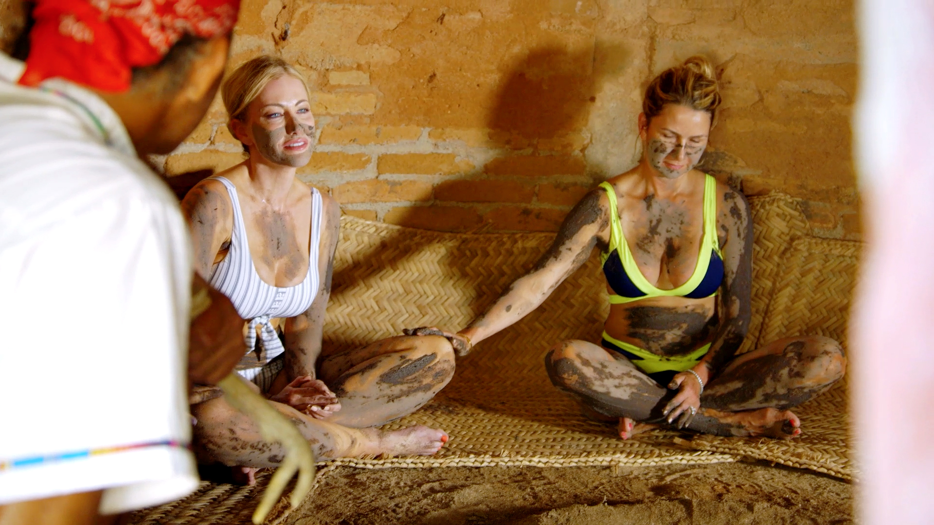 The Ladies Share an Emotional Experience in a Sweat Lodge