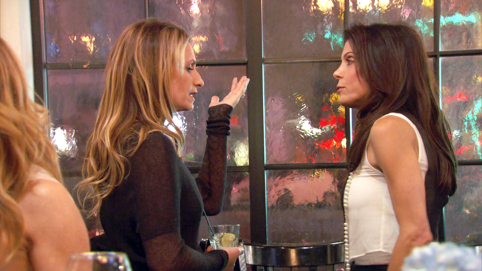 Bethenny and Heather Call a Truce