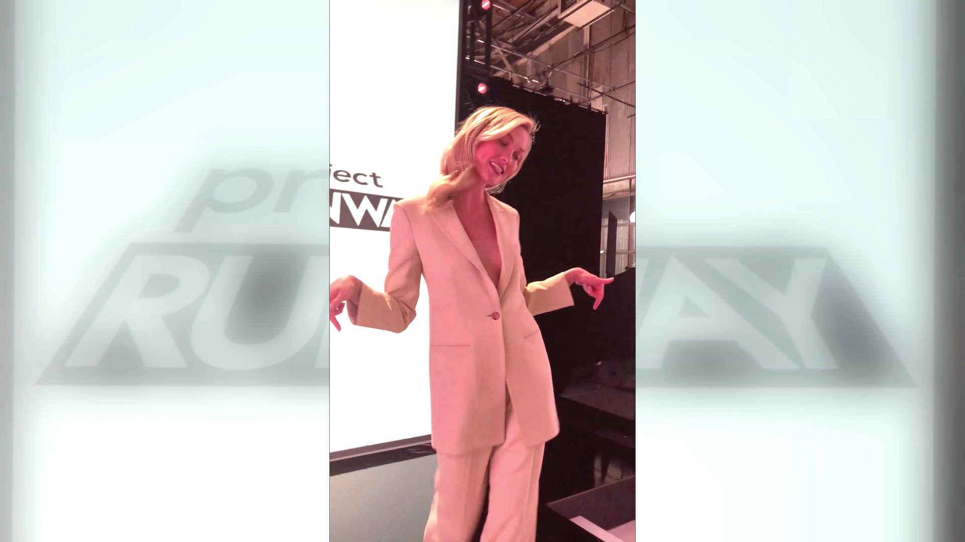 Karlie Kloss Shows Off the Brand New Runway