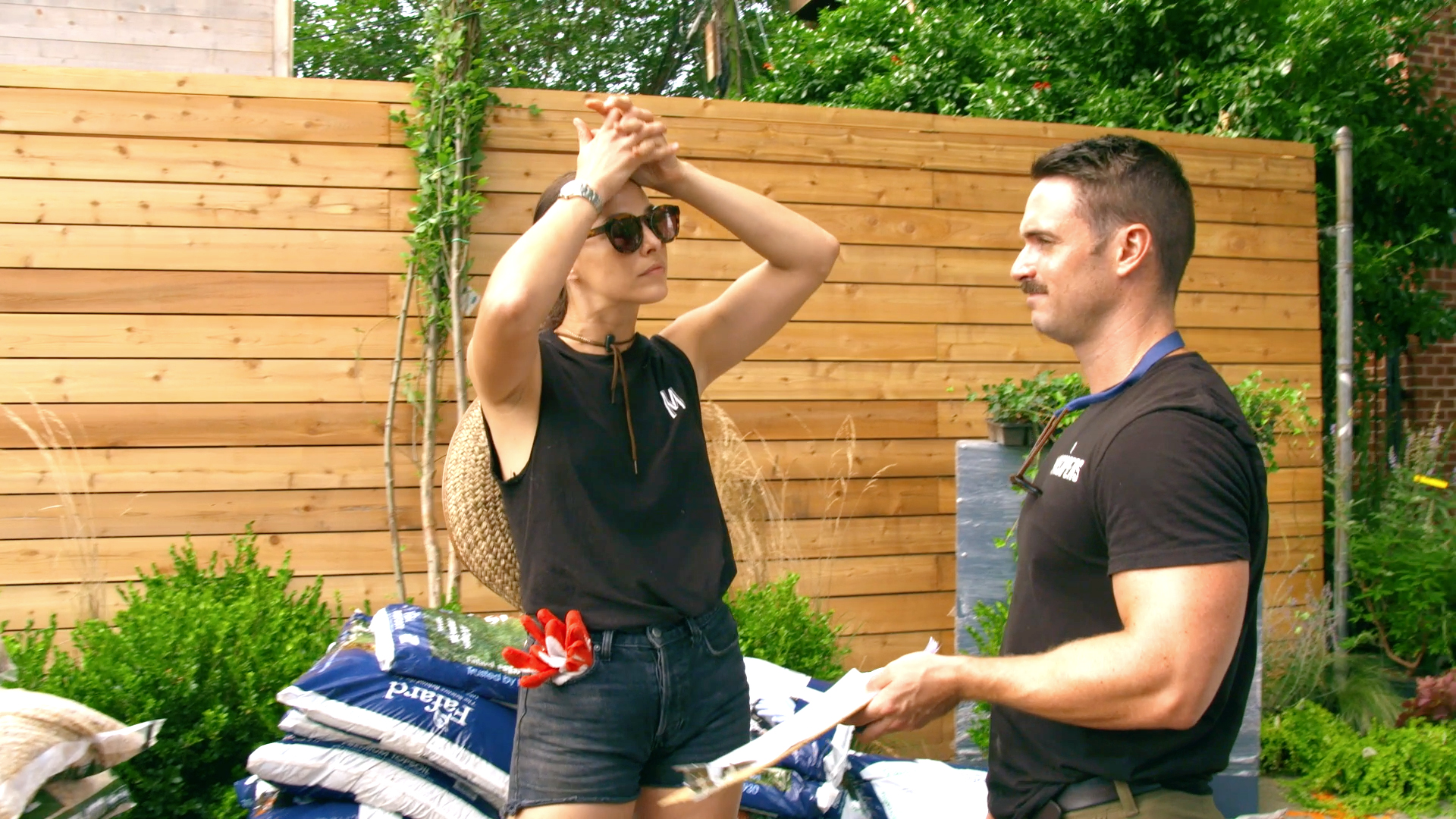 Melissa and Garrett Doubt if James Can Stick to a Tight Plant Budget