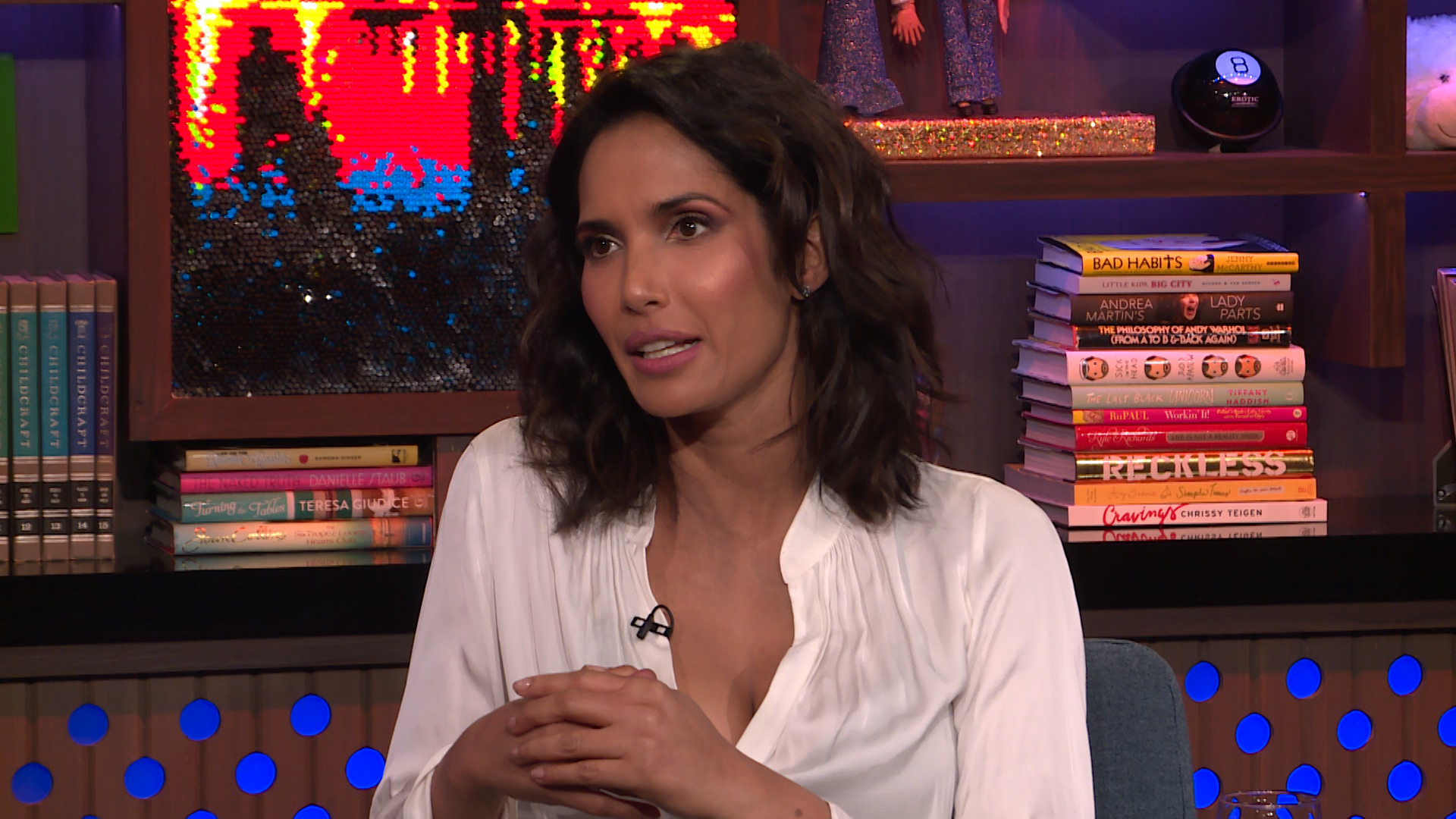 Padma on a #TopChef's Cancer Diagnosis