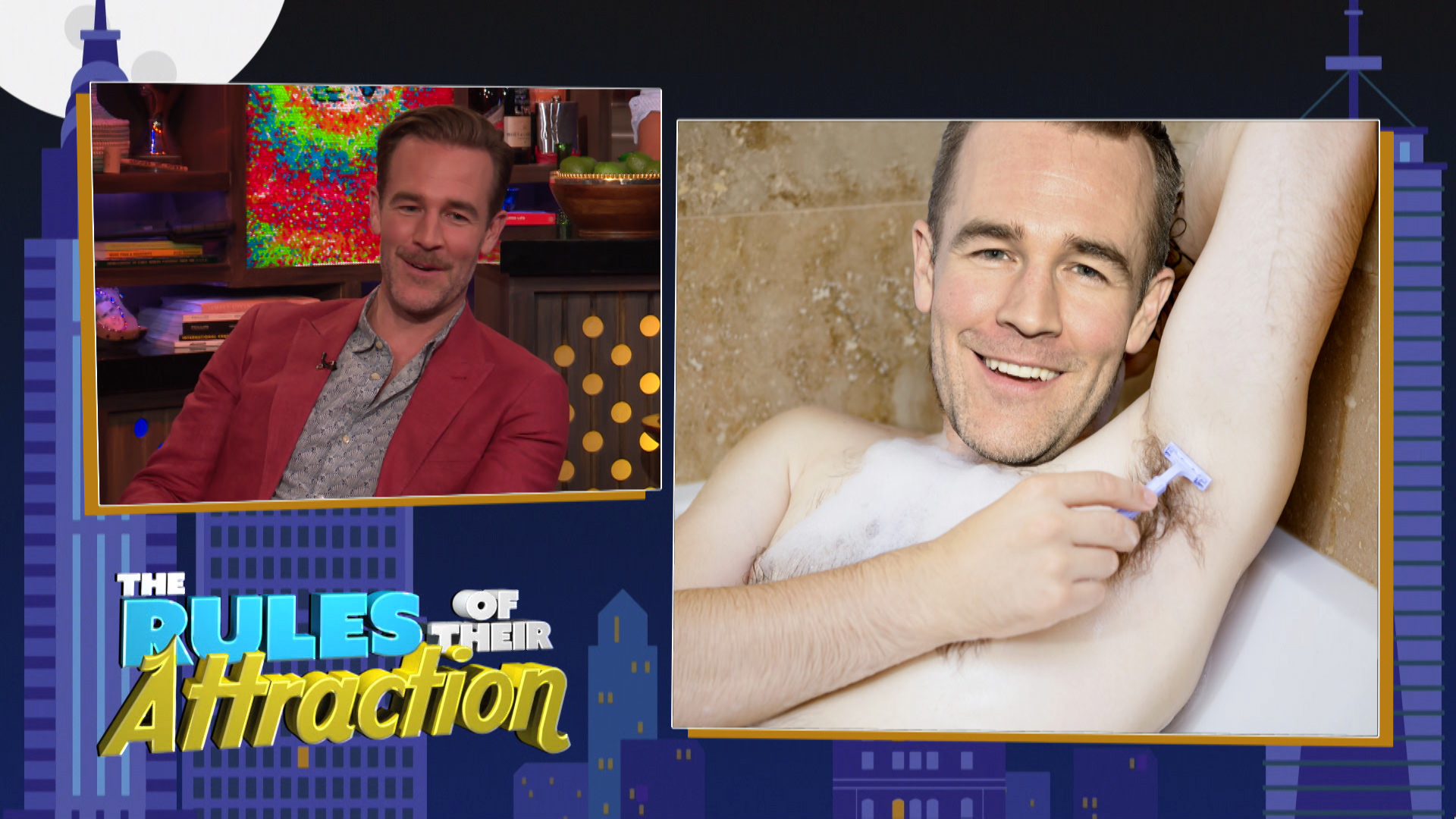 Kate Upton & James Van Der Beek's Attractions