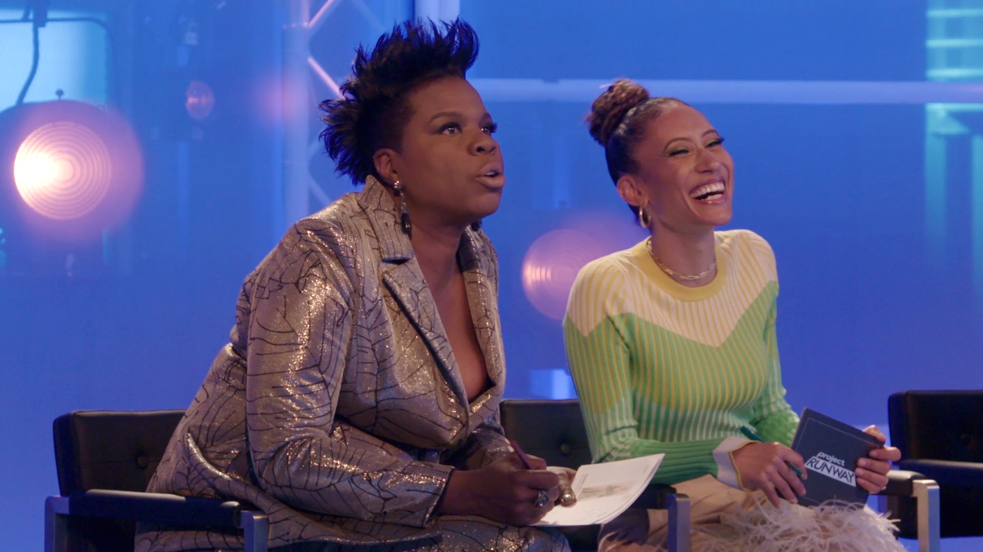 Leslie Jones' Comments About Geoffrey Mac's Look Will Make You LOL!