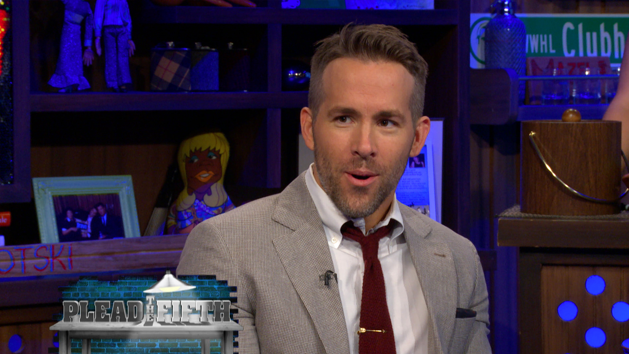 Ryan Reynolds Plays Pleads the Fifth!