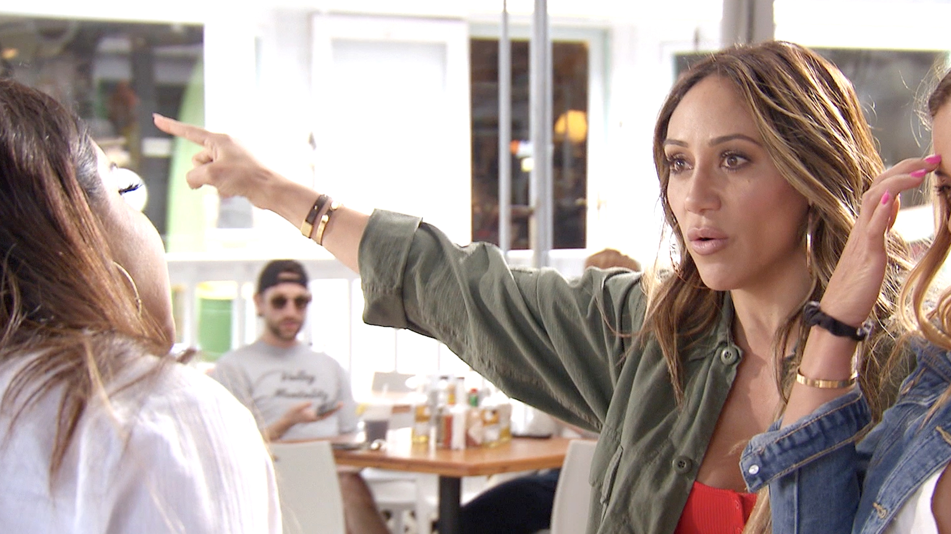 Did Jennifer Aydin Just Throw Utensils at Melissa Gorga?!