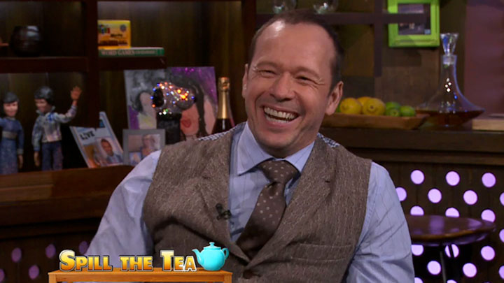 Donnie Wahlberg: More Game than Mark
