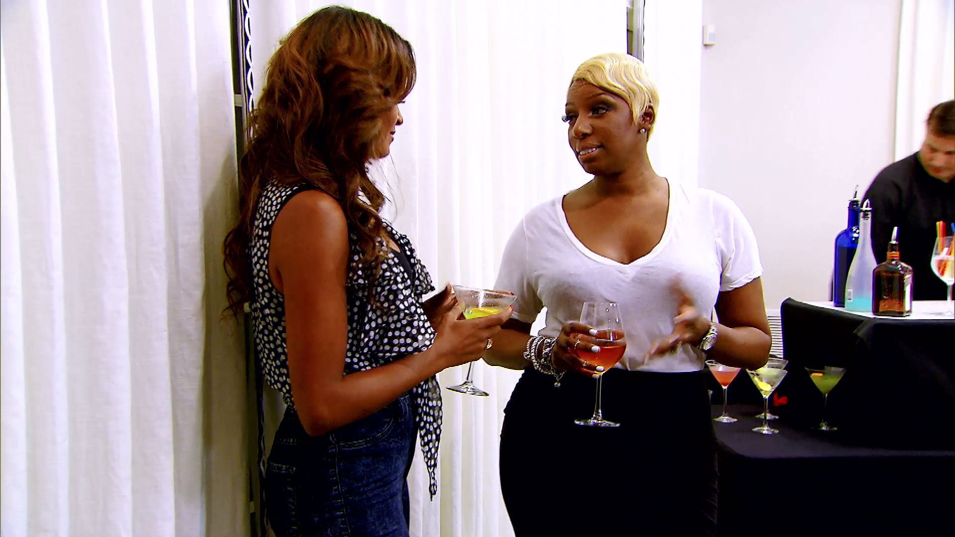 NeNe and Claudia's Awkward Exchange