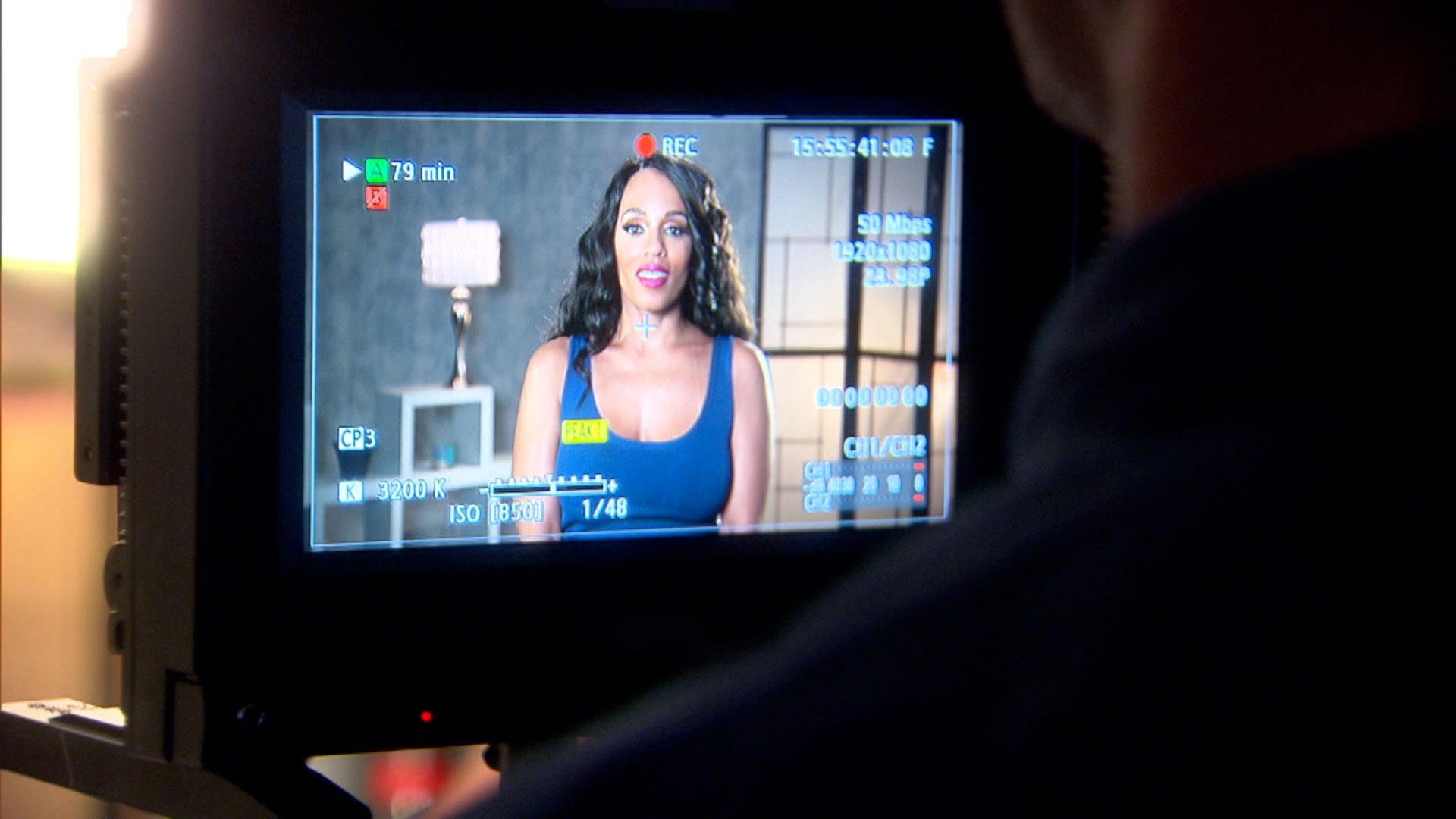 Behind-the-Scenes: Melyssa Ford Bares it All