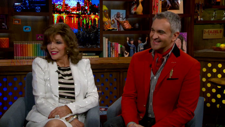 After Show: Crazy Joan Collins Rumors