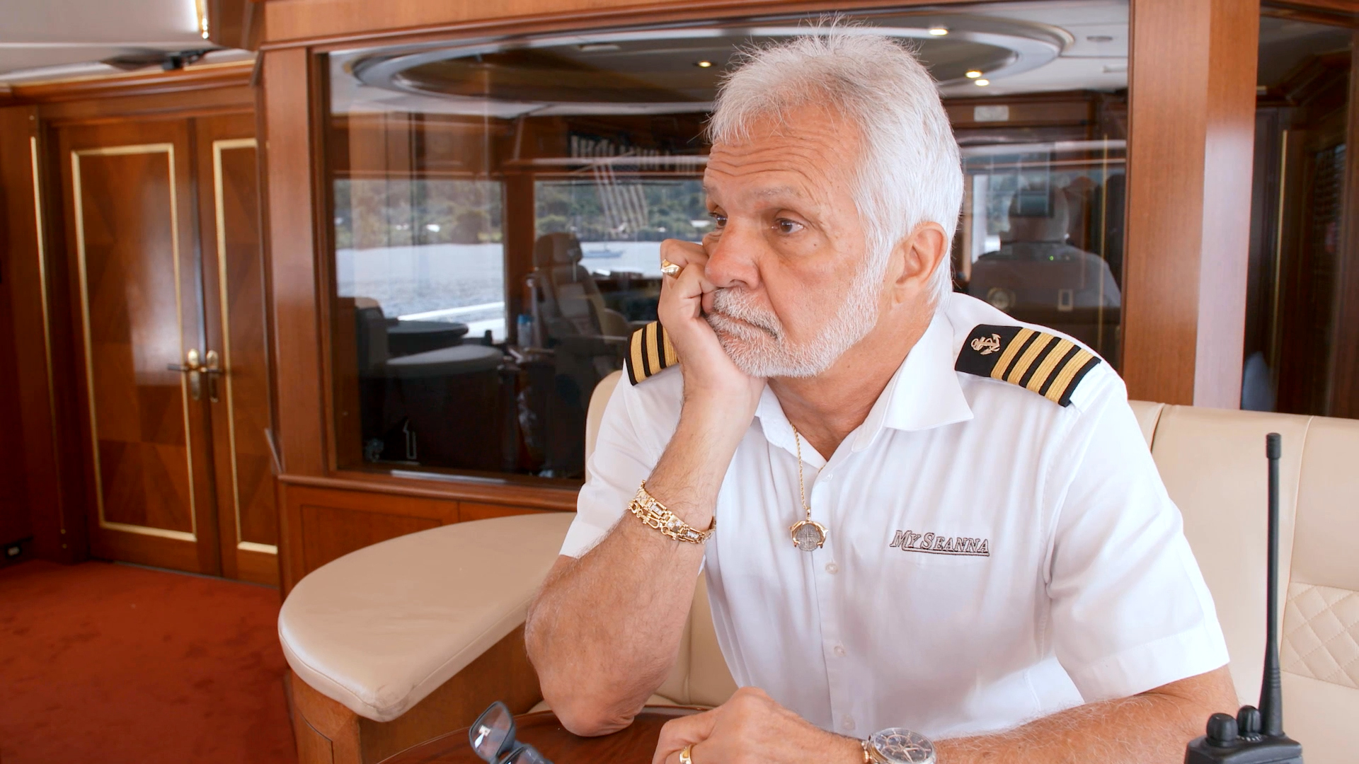 Captain Lee Calls in Laura Betancourt for a Chat