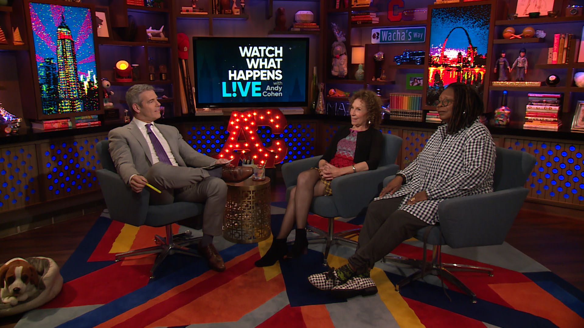 After Show: Whoopi Goldberg and Rhea Perlman on Bill De Blasio for President