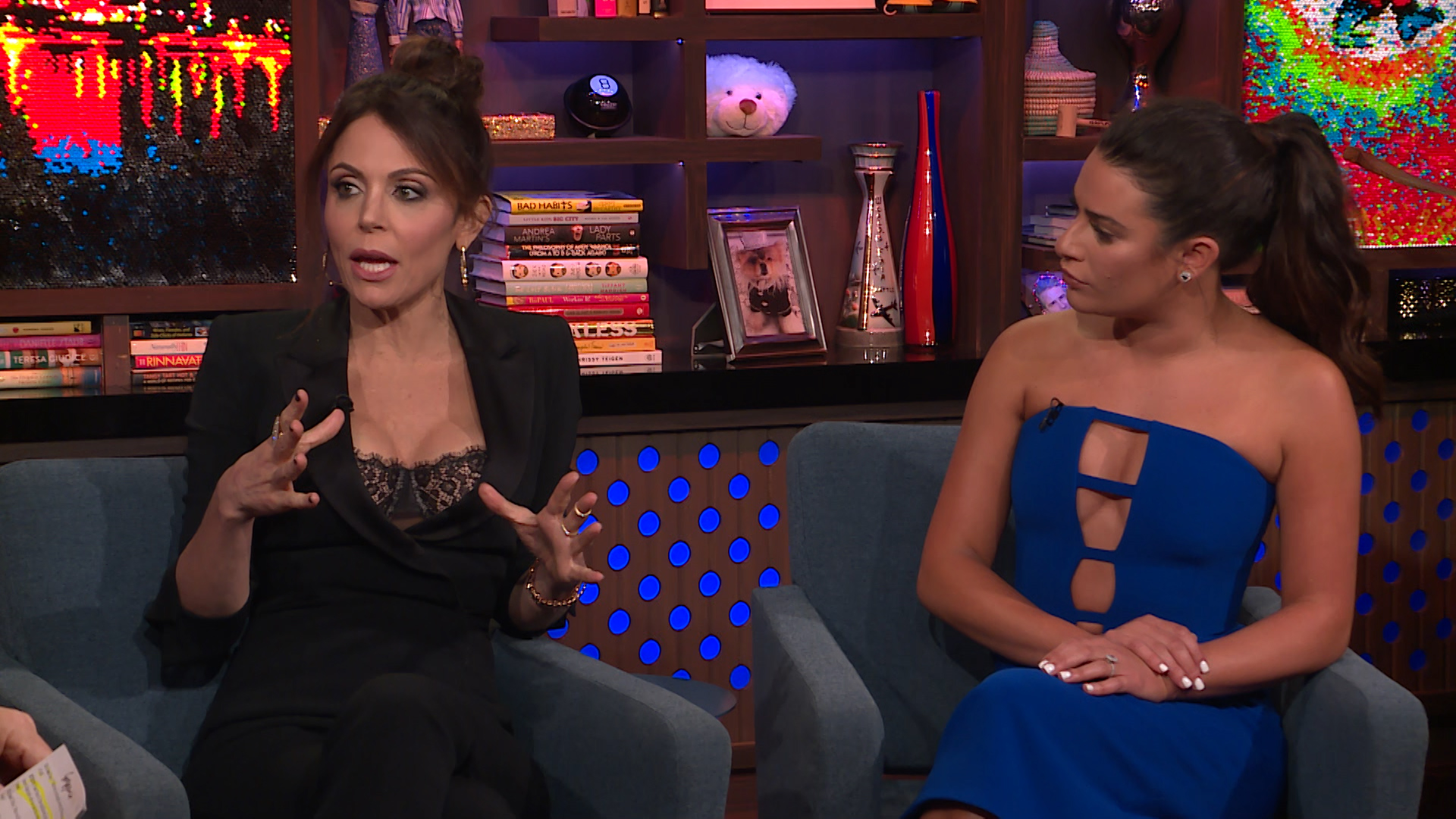 Lea Michele & Bethenny Frankel Talk Bravo