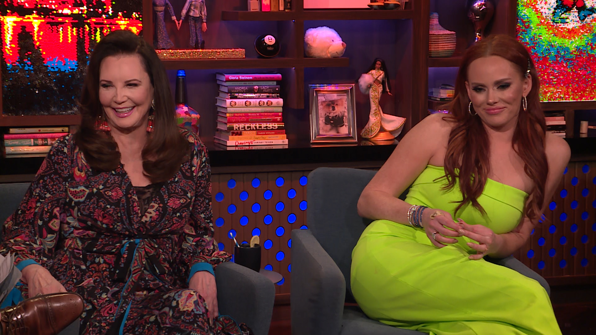Kathryn Dennis & Patricia Altschul on Ashley Jacobs' Instagram Return