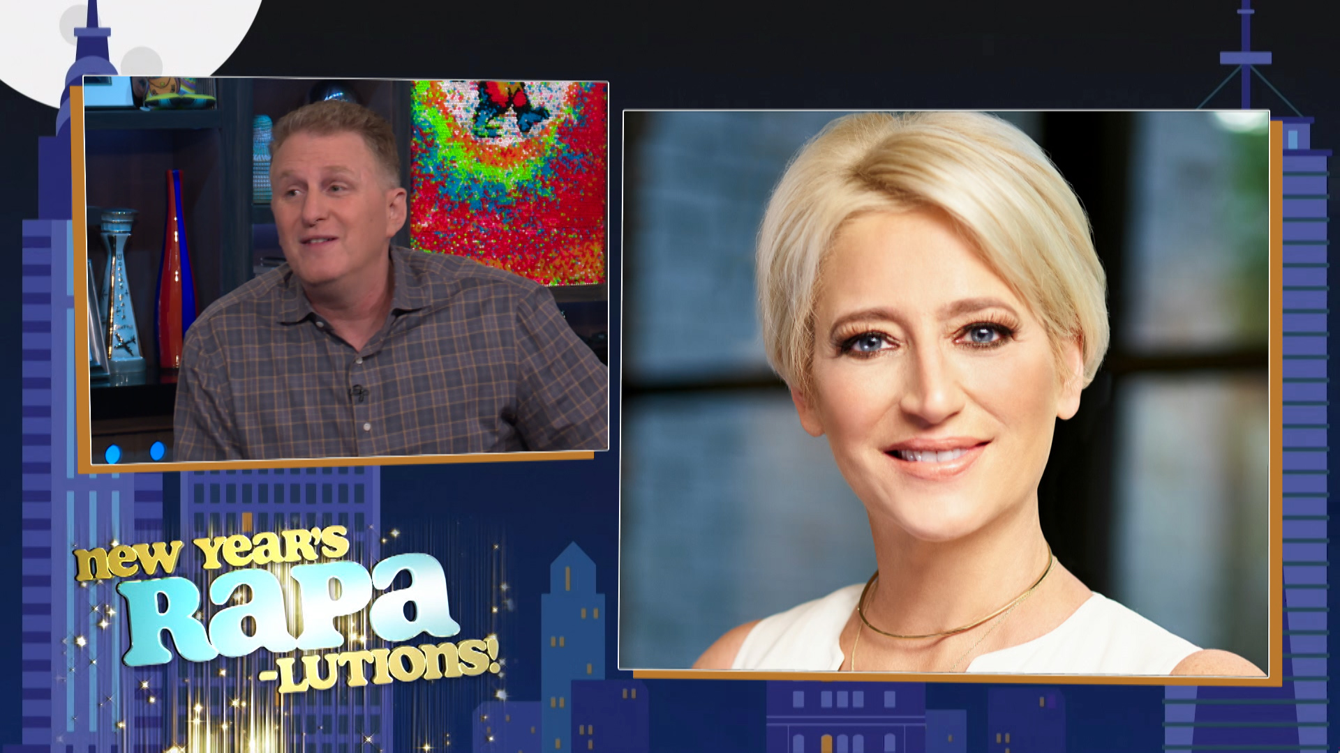 Michael Rapaport's Resolutions for #RHONY & #Shahs