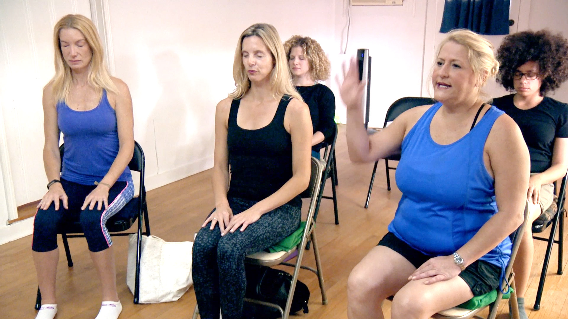 The #SweetHomeOklahoma Ladies Try Meditation