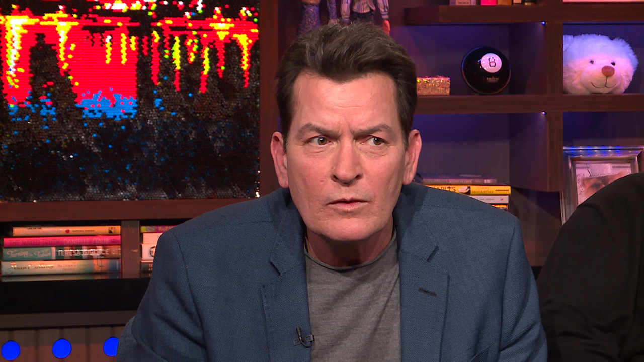 Charlie Sheen's Feud with Rihanna
