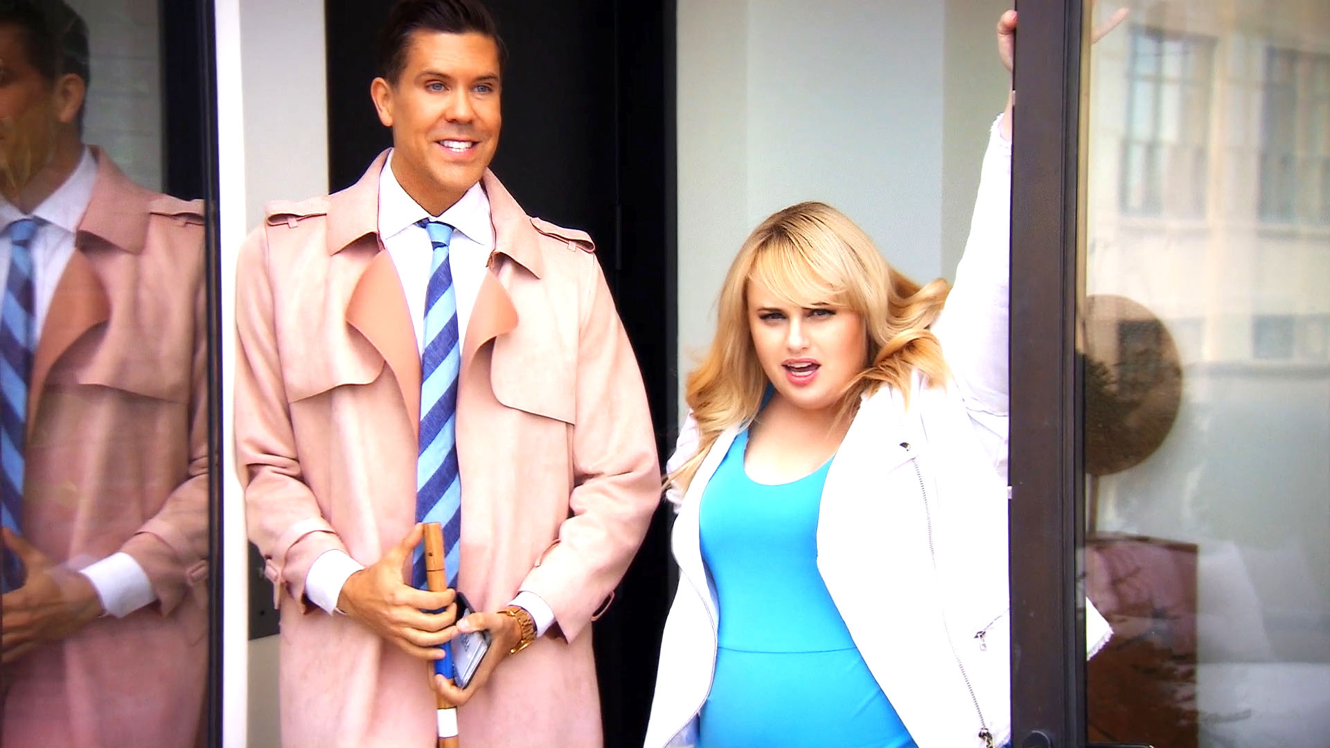 Fredrik Tries to Find the Perfect Apartment for Rebel Wilson