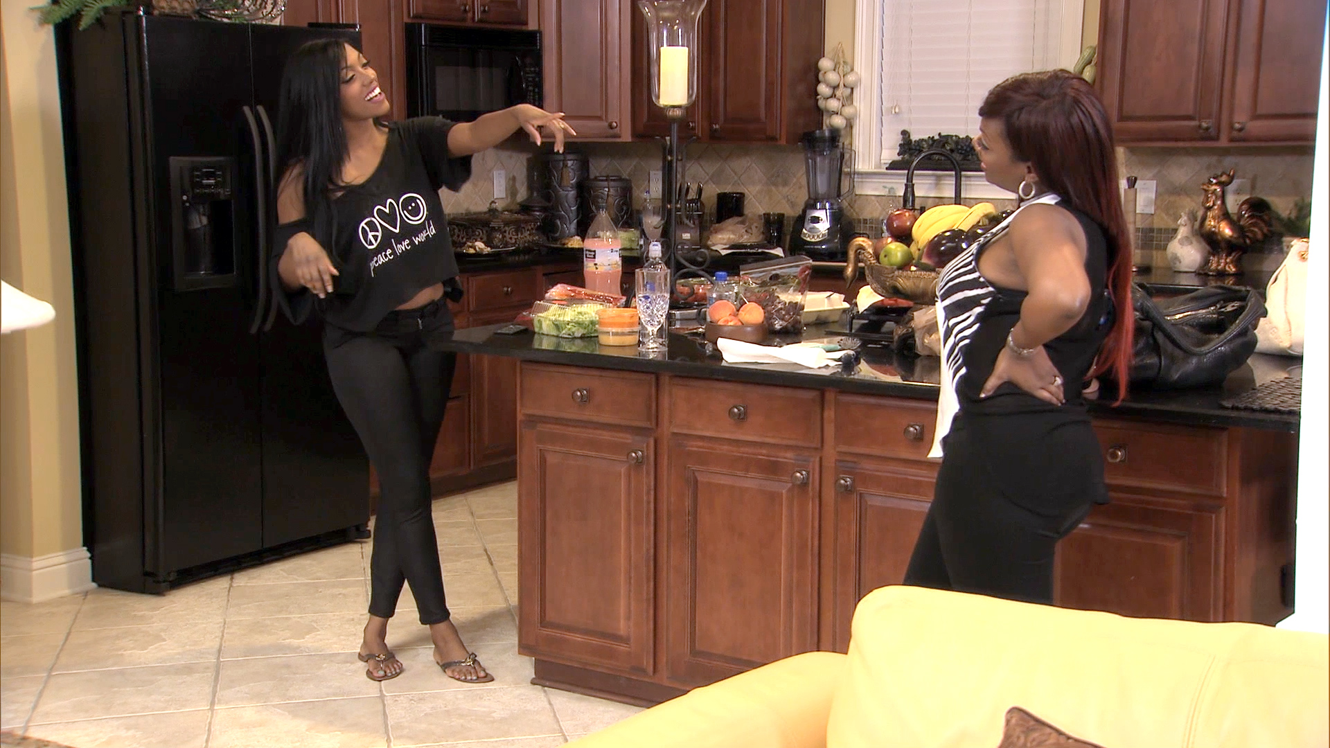 A Porsha Williams and Kandi Burruss Duet