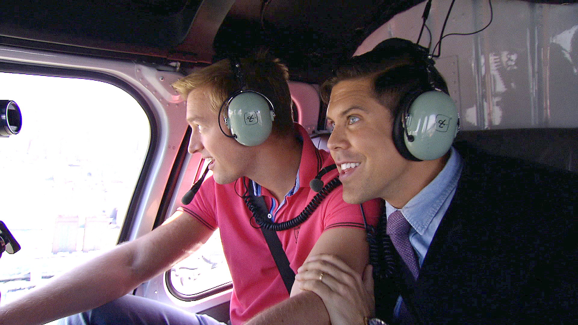 Fredrik and Derek's Helicopter Tour of NYC