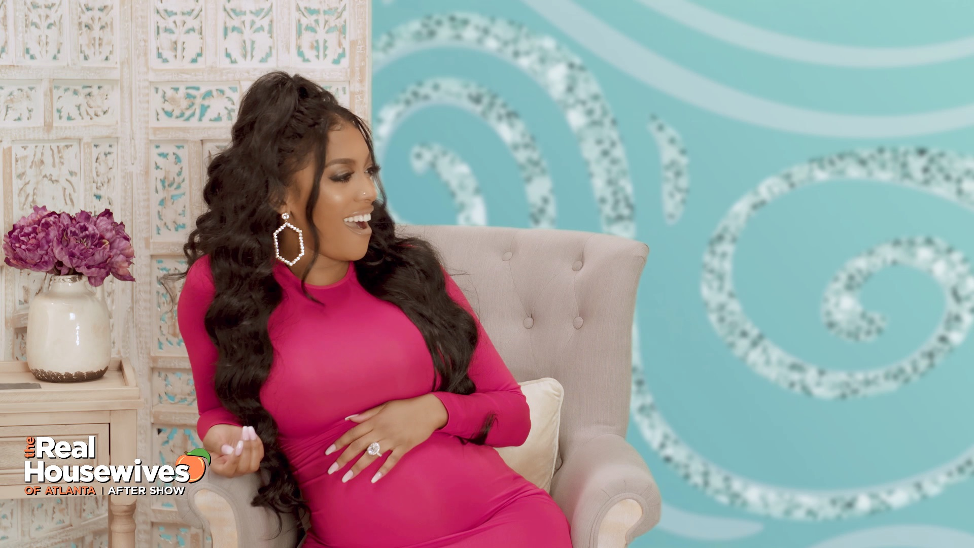 "Porsha Williams is Horrified by ""Fart Time"" Moment"